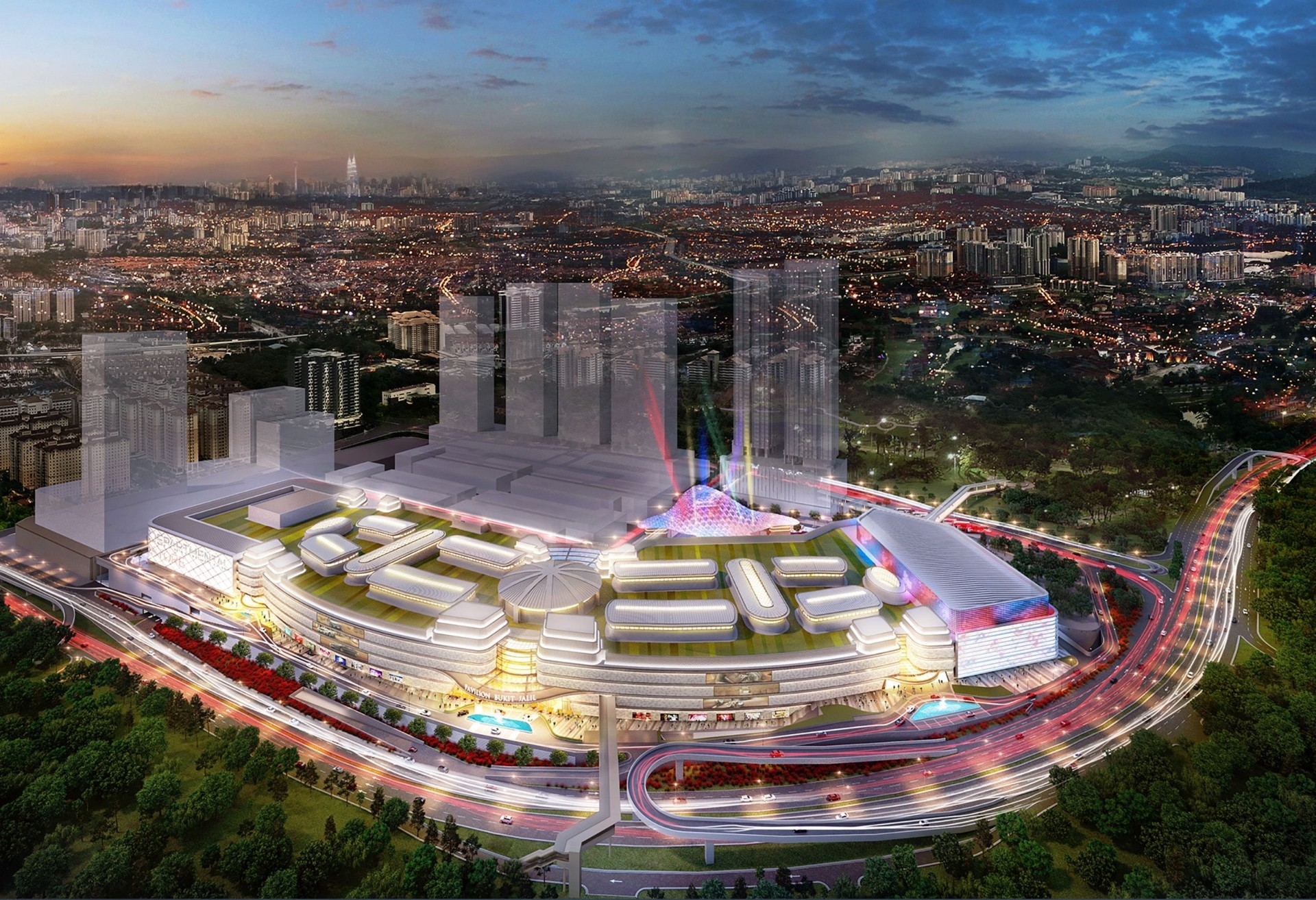 Pavilion Bukit Jalil mall is part of the 20ha Bukit Jalil City integrated lifestyle project in the southern corridor of Klang Valley developed by Malton.