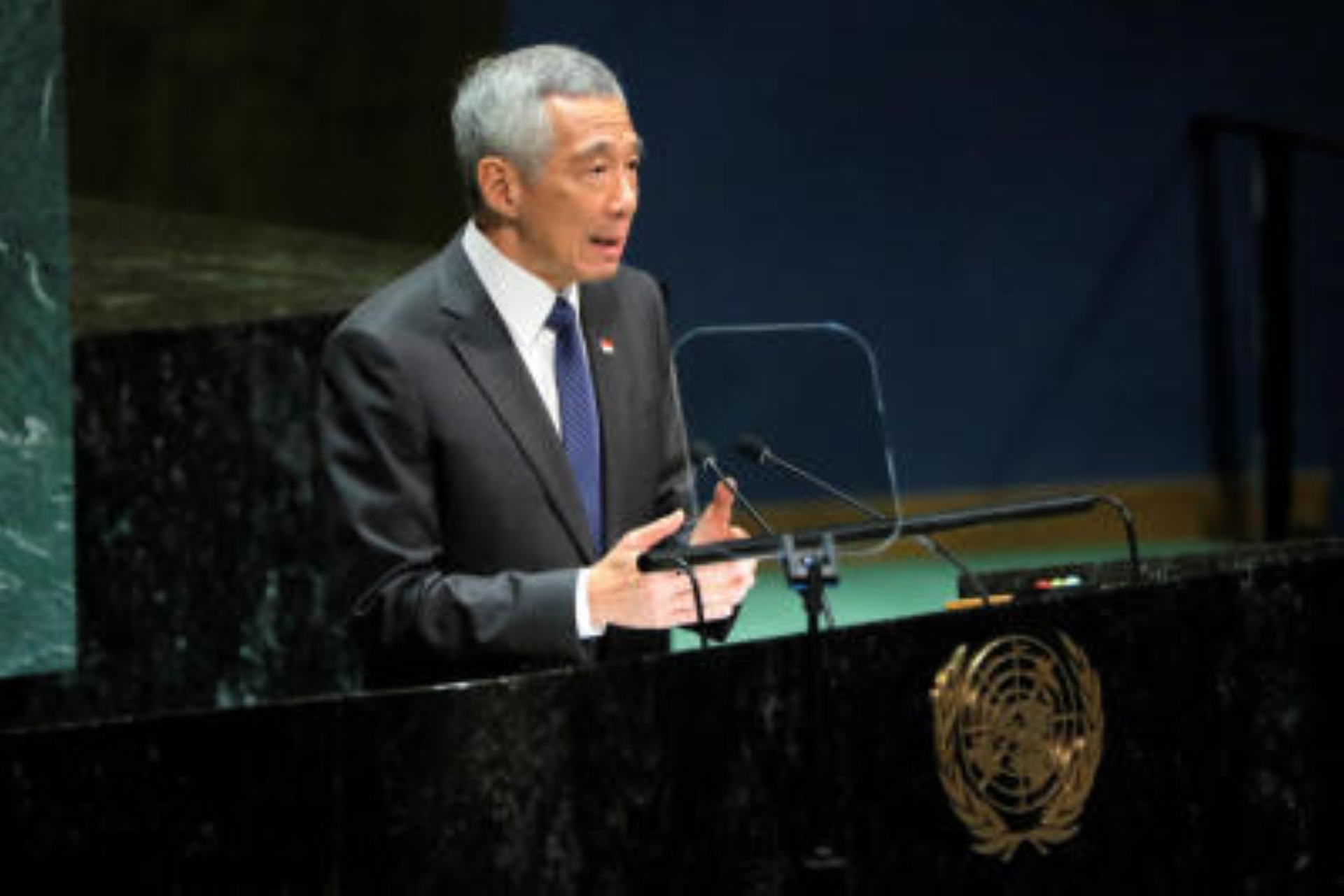 Hong Kong protest demands are unrealistic, Singapore PM says