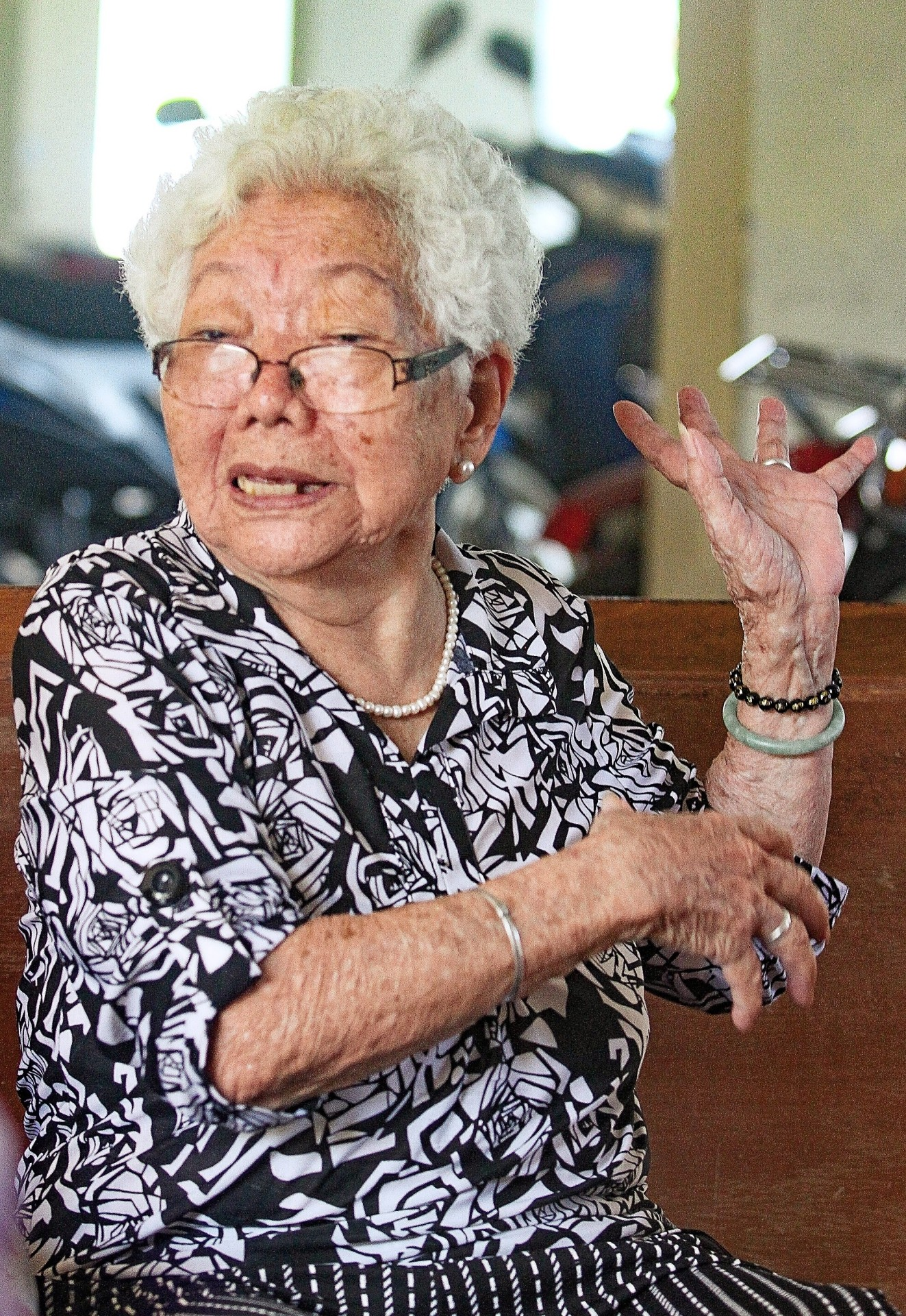 Liew used to walk to Kepong Metropolitan Park 3km from her home but stopped doing so after being a victim of snatch theft.