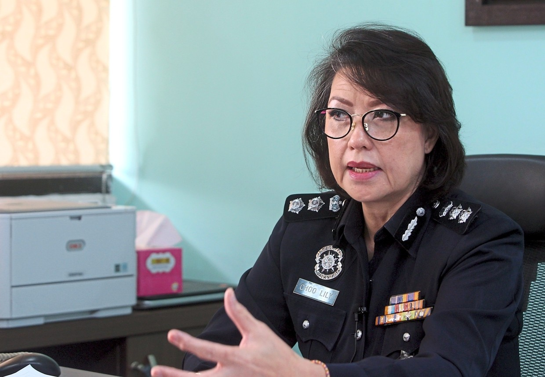 Bukit Aman D11 principal assistant director ACP Choo Lily