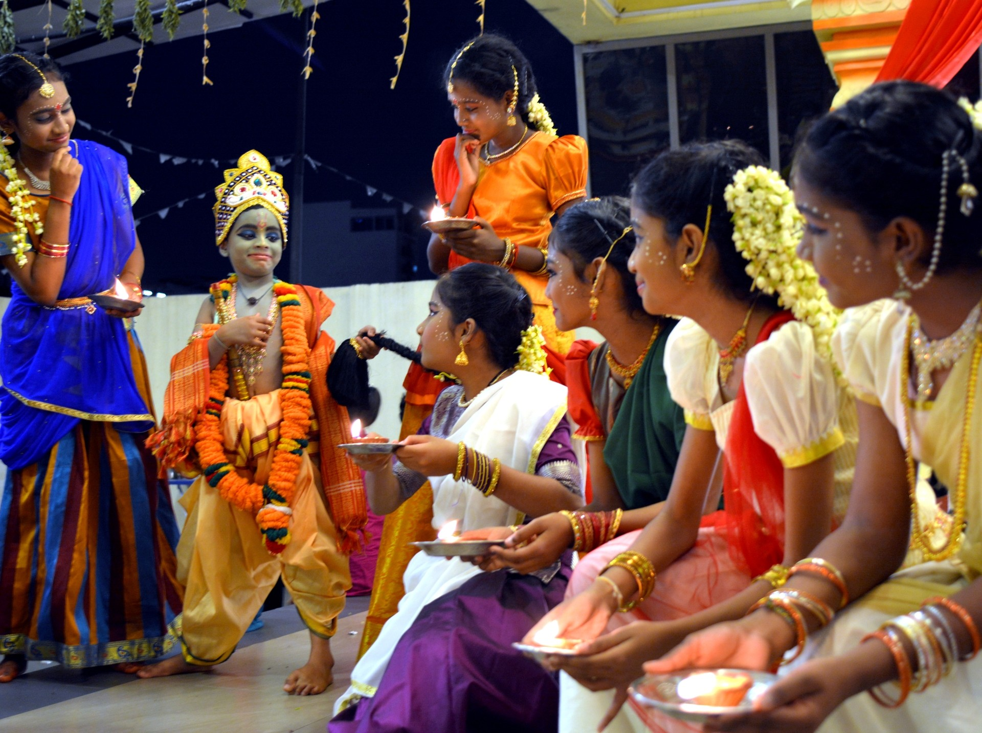 The festival of lights is a religious observance commemorated by religious class students at the Devi Sri Maha Karumariamman Temple in Kuala Lumpur. P NATHAN/The Star