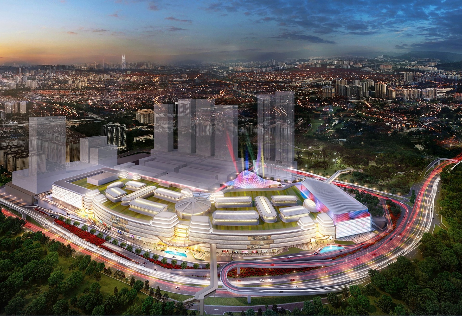 The 20ha prime freehold land in Bukit Jalil City will be one of the country's largest regional shopping hubs.
