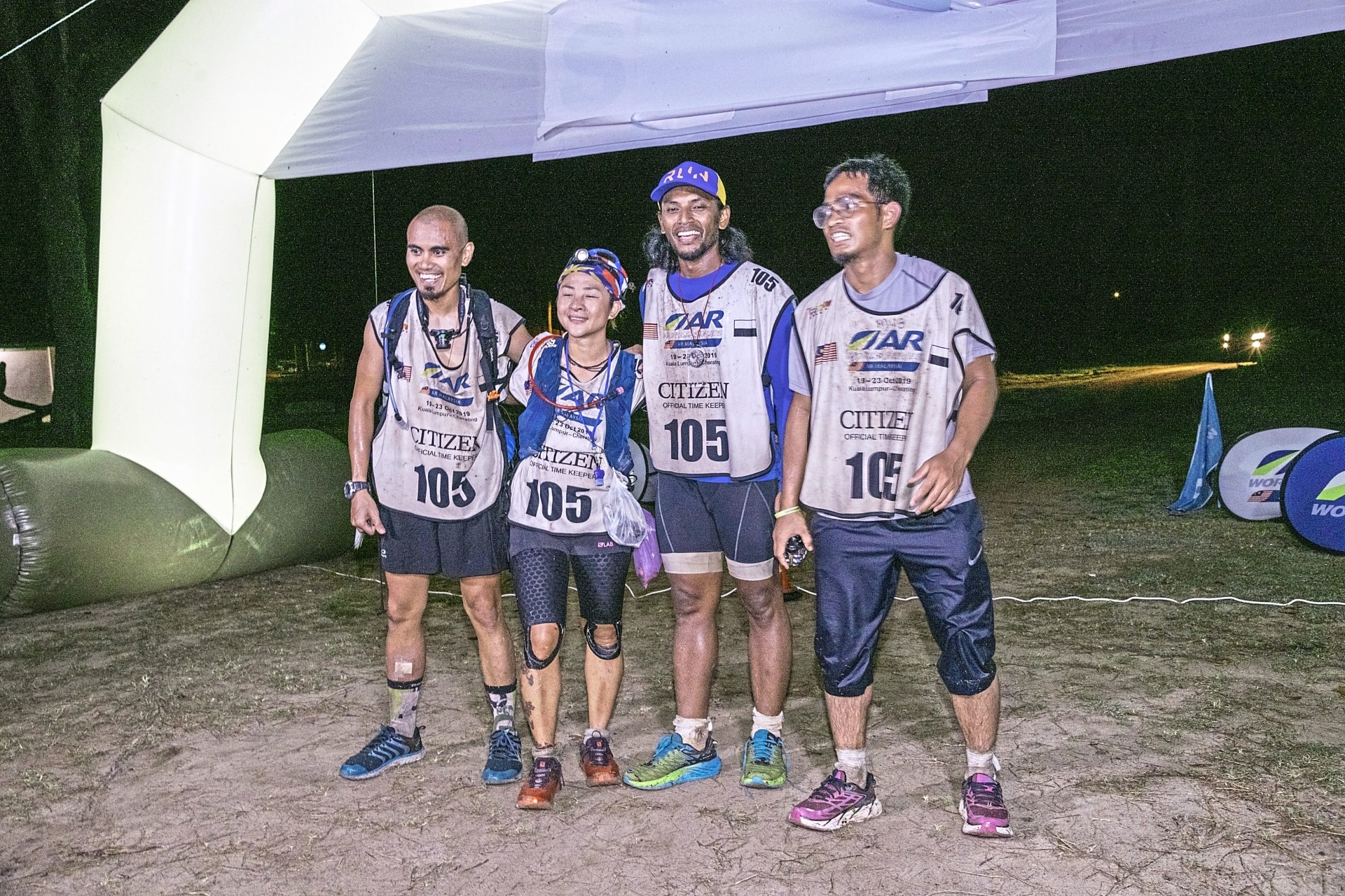 Team Kamikaze A from Malaysia came in as first runners-up in the race.