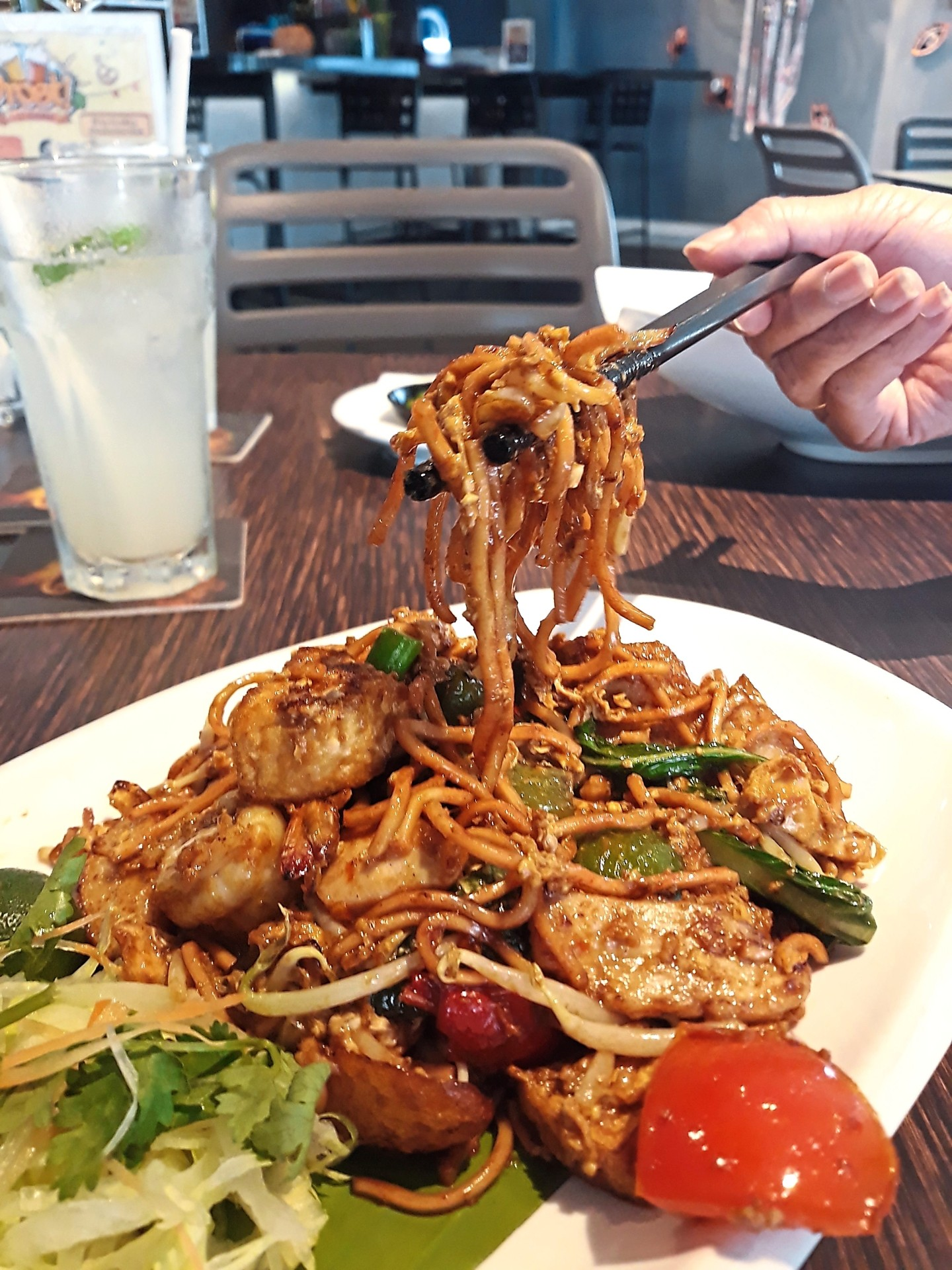 The mee goreng in Souled Out, Hartamas is chock-full of ingredients.