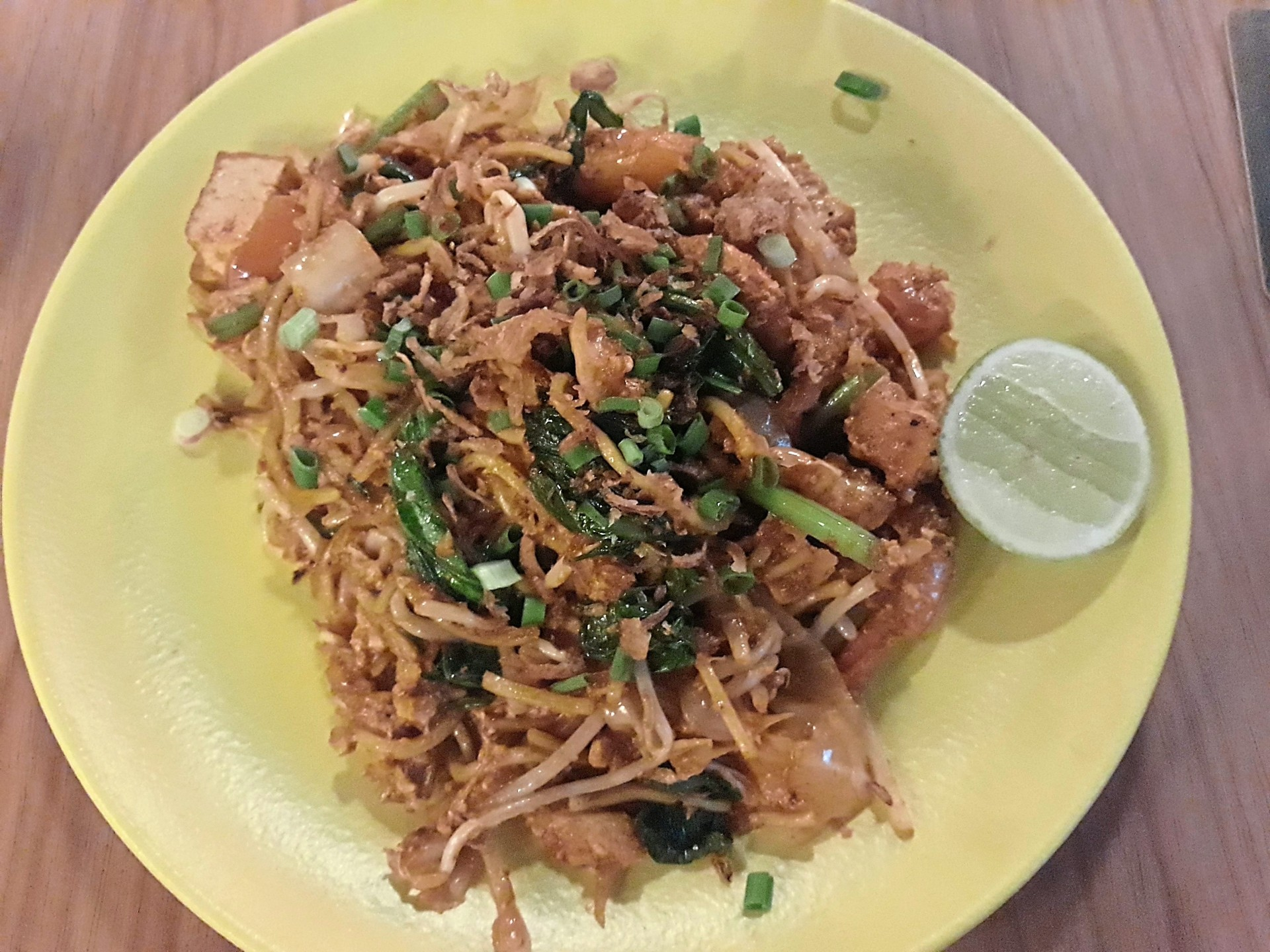 Sam's mee goreng mamak is priced at RM20.