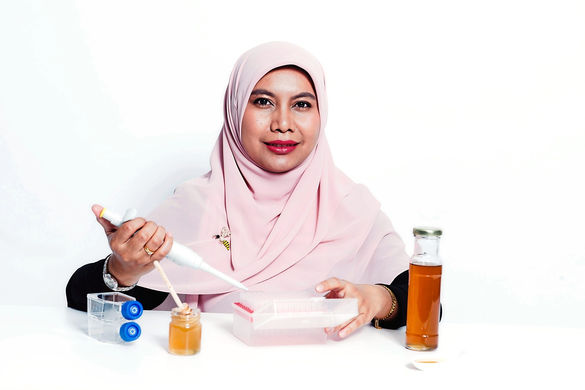 Dr Wan Iryani hopes her research can make a difference to people with diabetes and obesity issues. Photo: L'Oreal