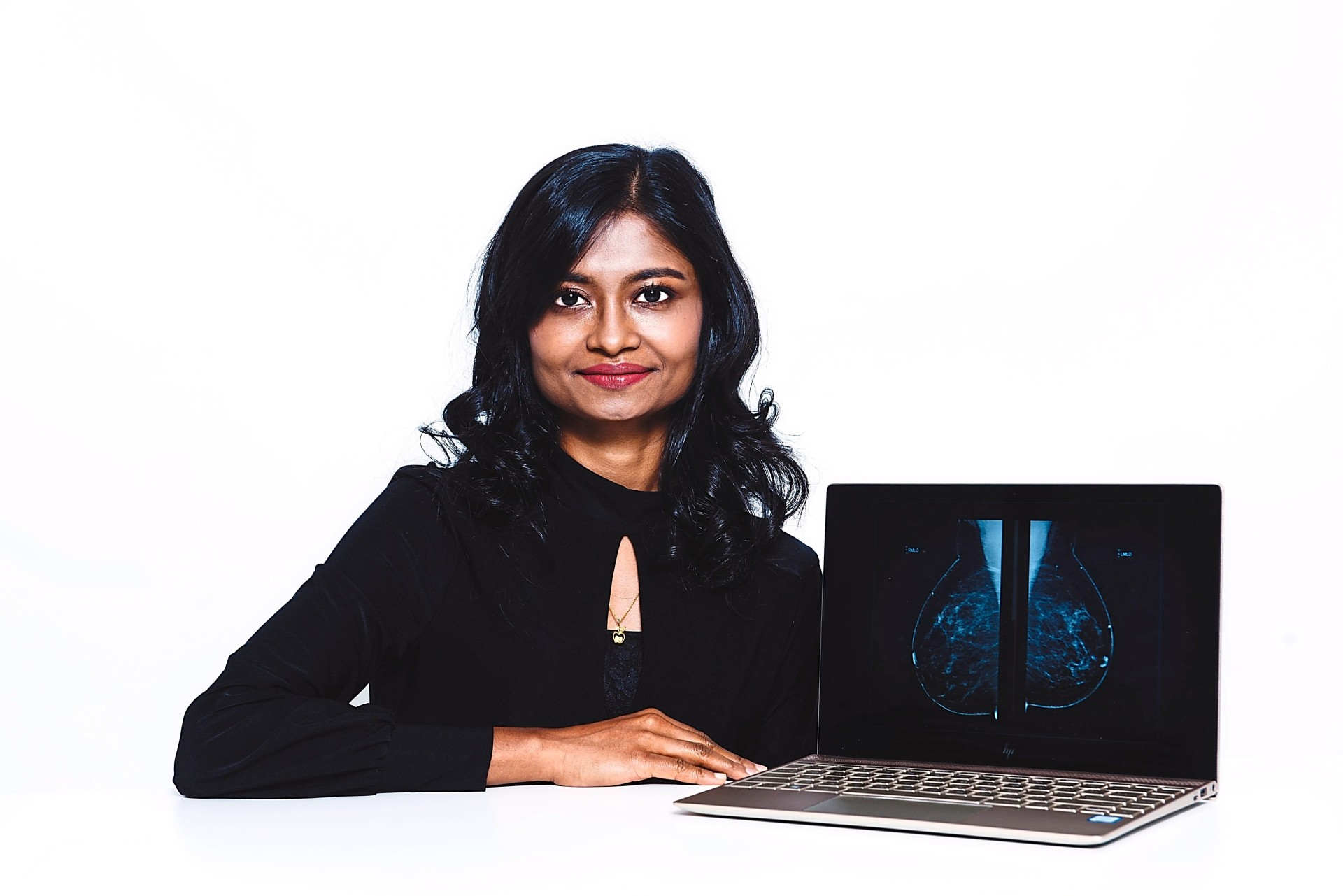 Shivaani  thinks it is important for the younger generation of girls to see science as a career that will make differences in other people's lives. Photo: L'Oreal