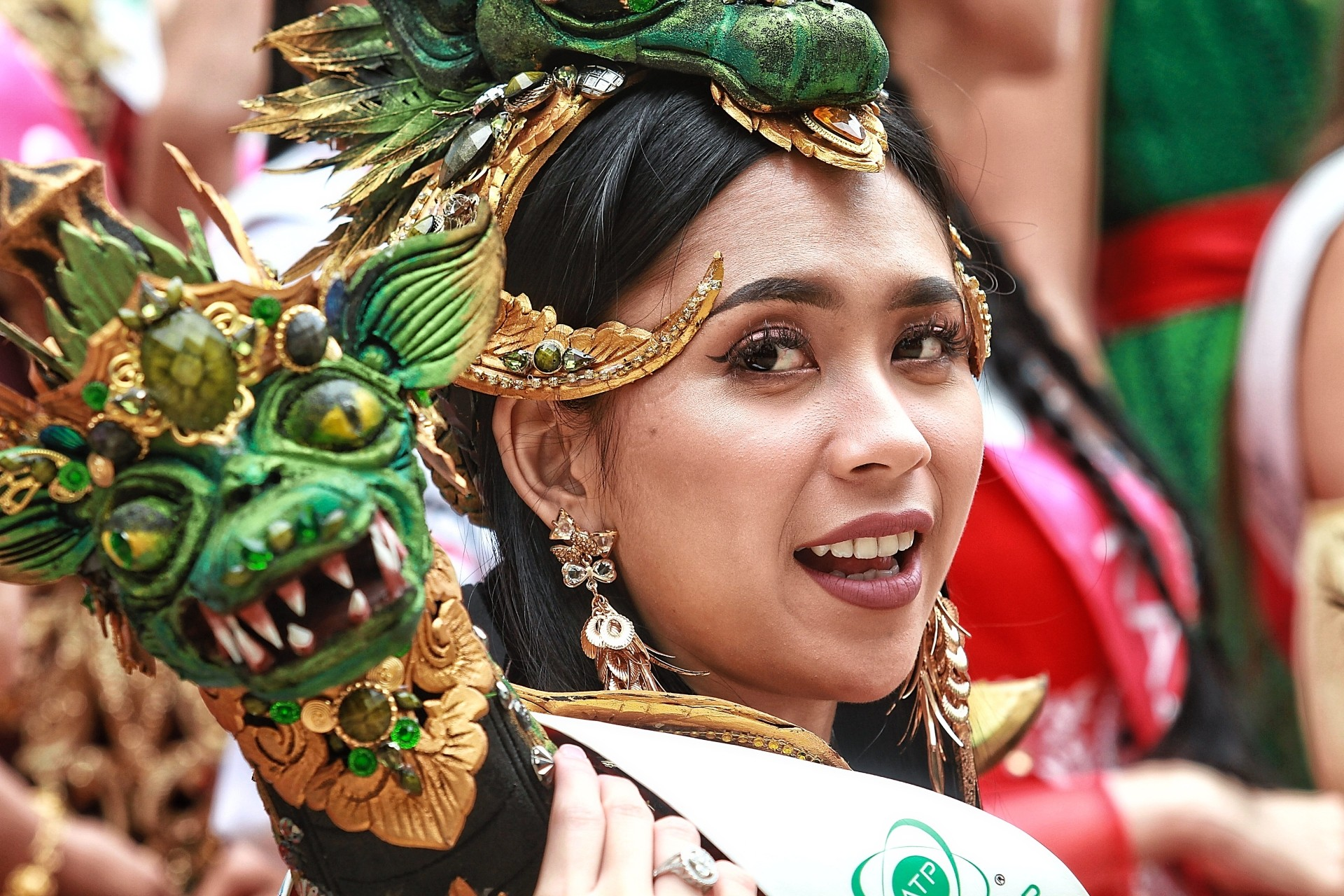 Indonesian participant Gabriella Patricia Mandolang.