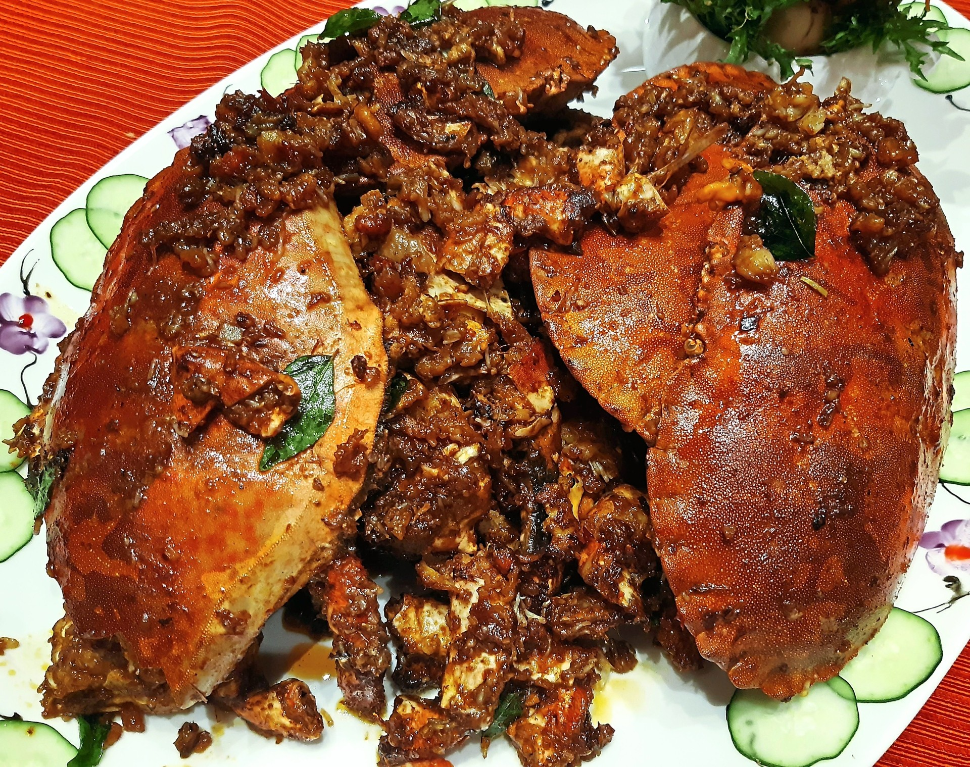 French crabs prepared in creamy in kam heong style can be relished with or without rice. — Photos: CHAN TAK KONG/The Star