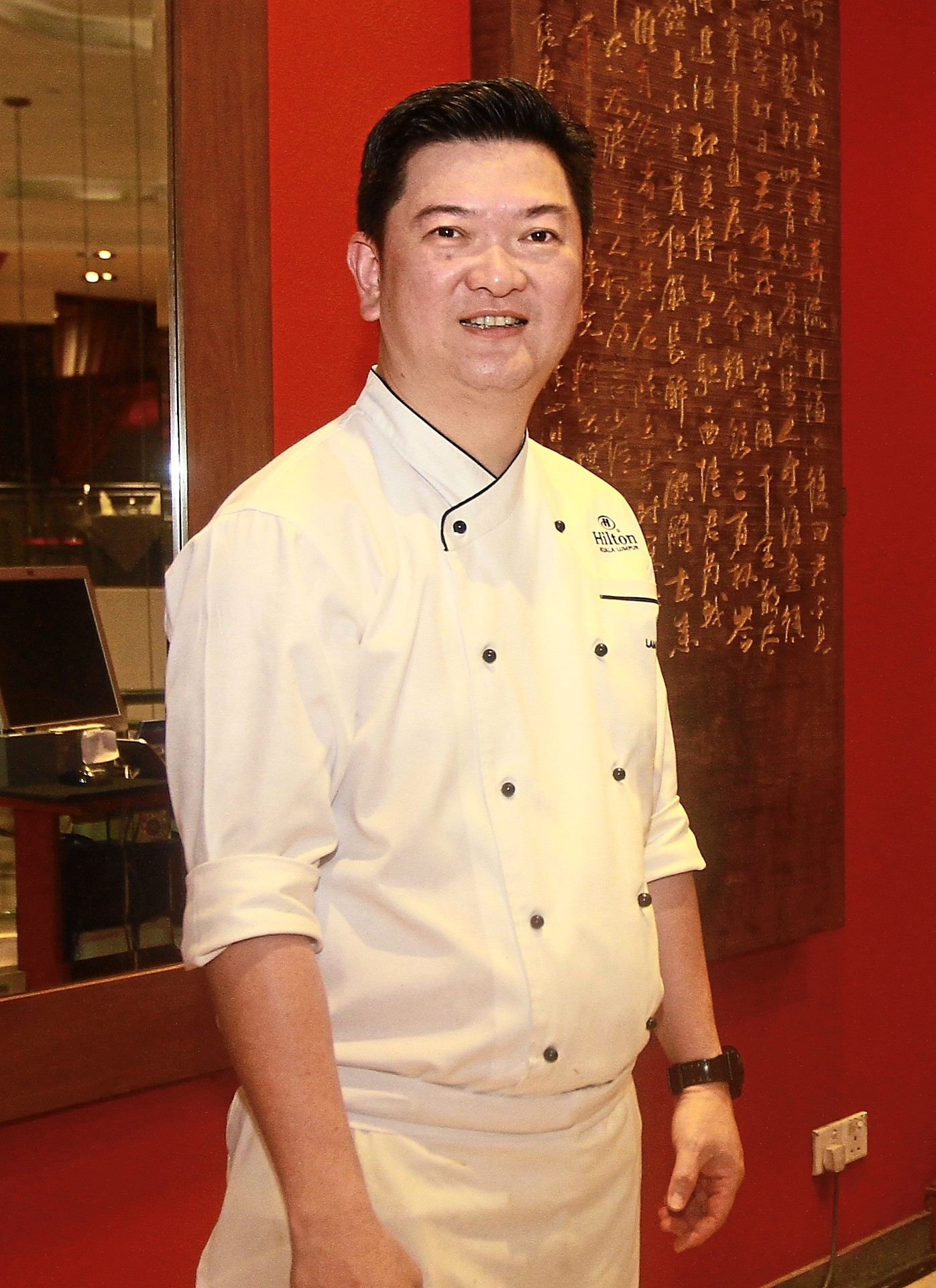Lam says the restaurant can prepare the crab in many styles to suit the customers' palate.