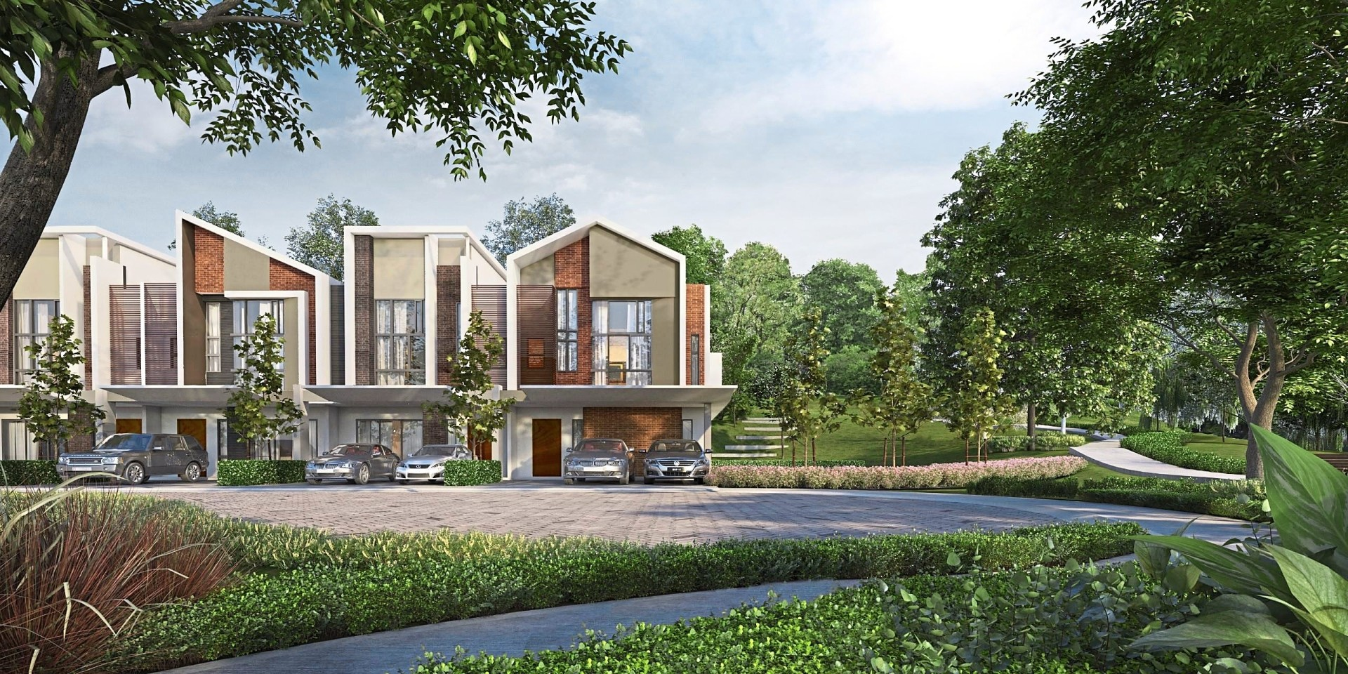 Joya superlink homes are the latest launch in Gamuda Gardens.