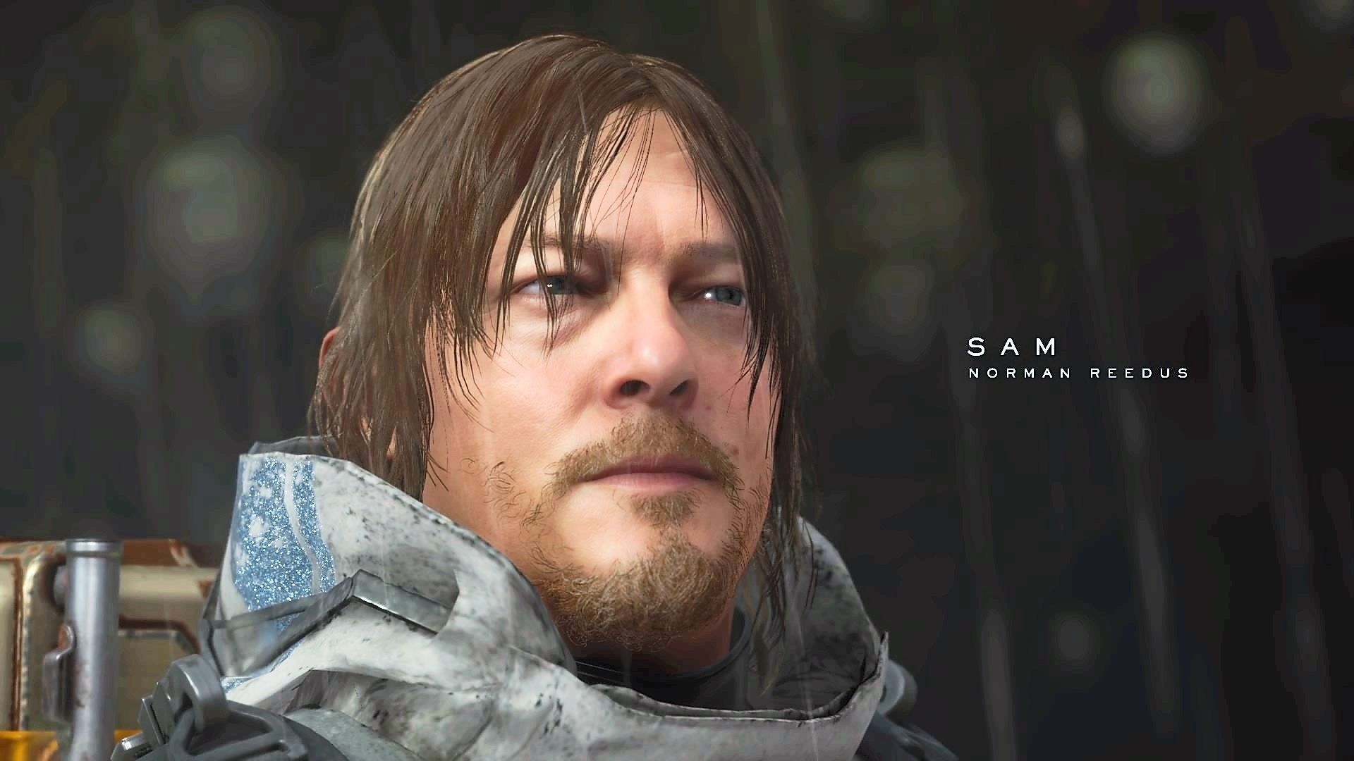 Get used to seeing a lot of Norman Reedus as Sam Porter Bridges in this game.