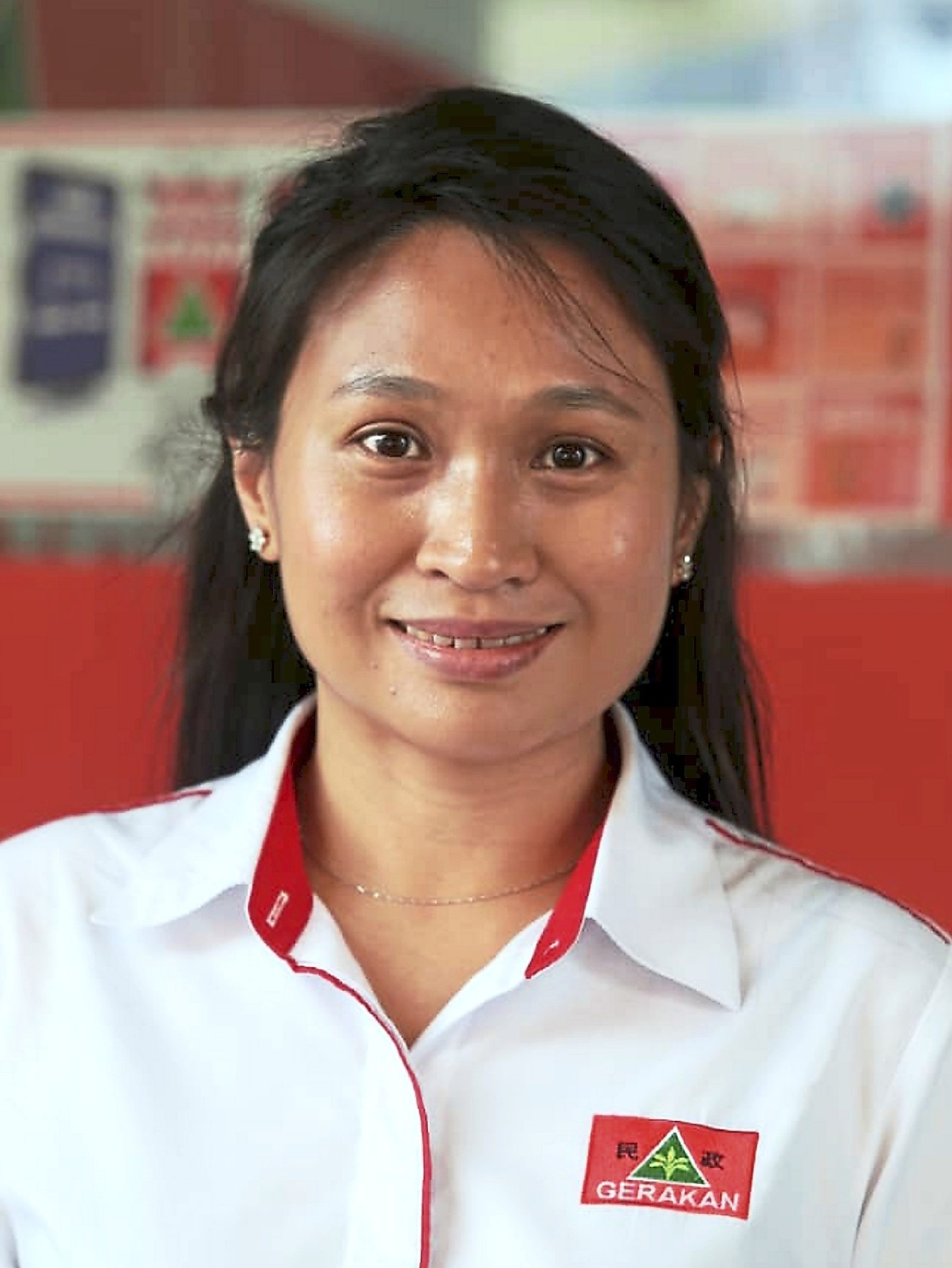 Wendy: Is candidate for Gerakan.