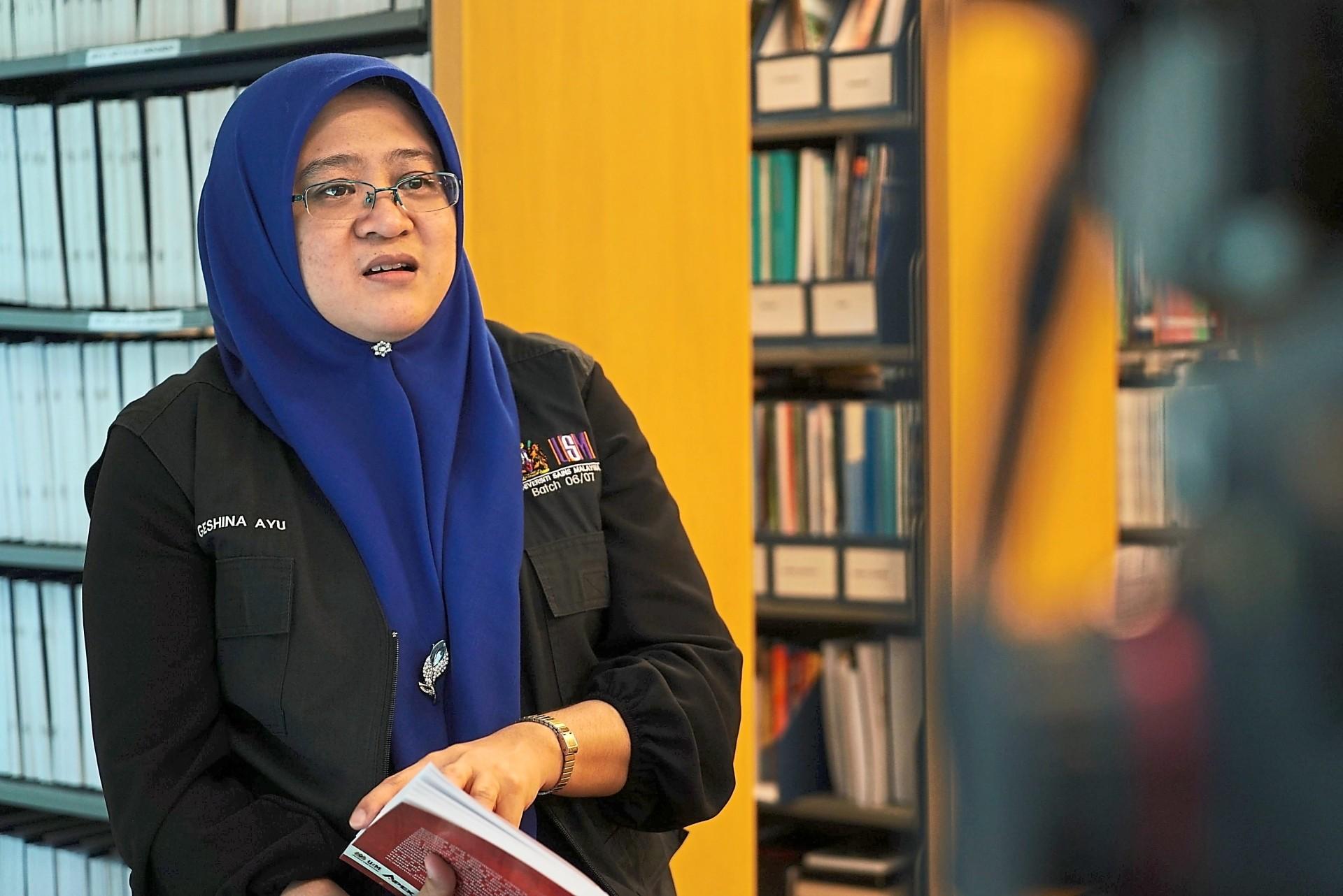 Assoc Prof Dr Geshina Ayu Mat Saat