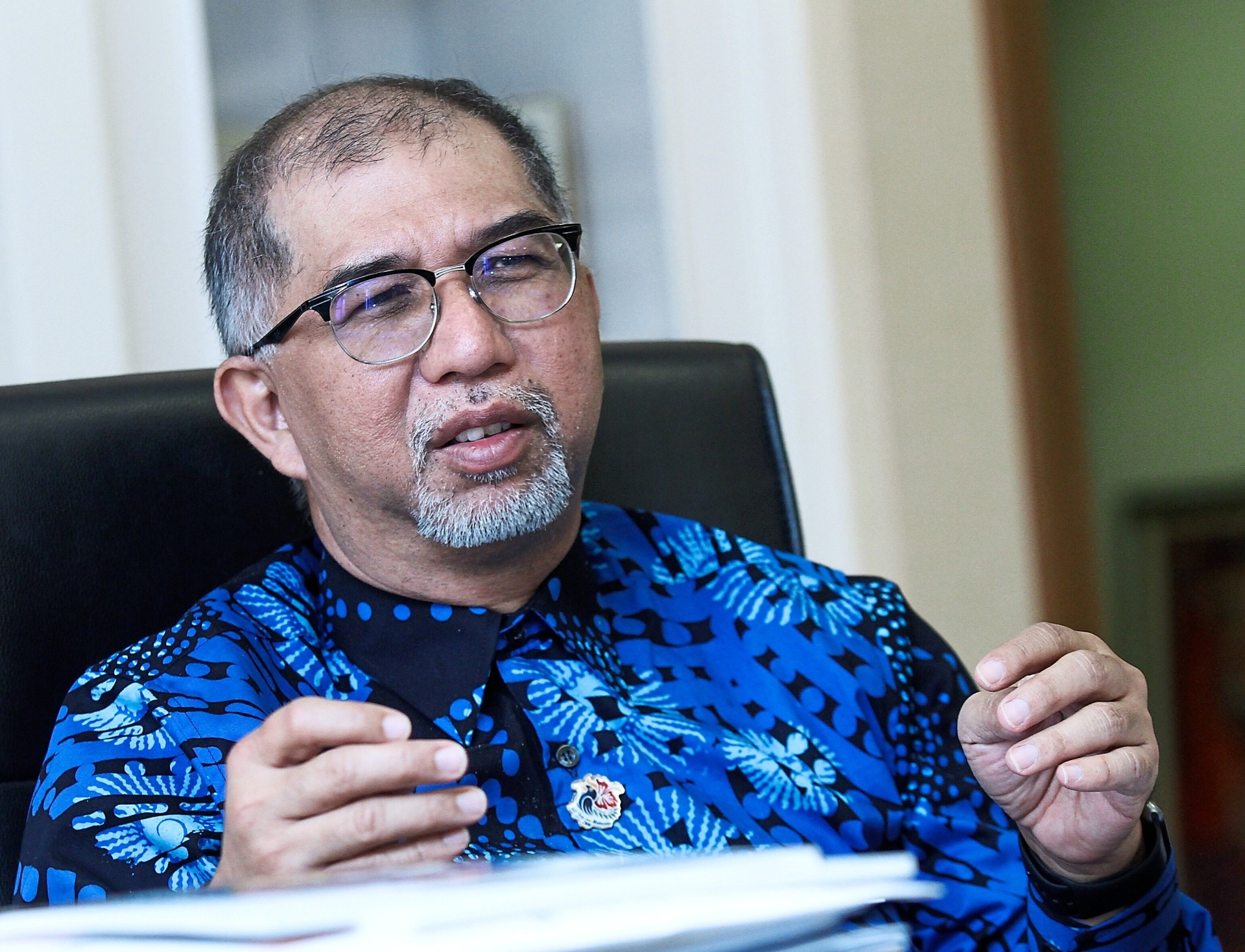 Muhammad Bakhtiar says proposals to redevelop Carcosa Seri Negra must be favourable to the Government. --- MOHD SAHAR MISNI/The Star