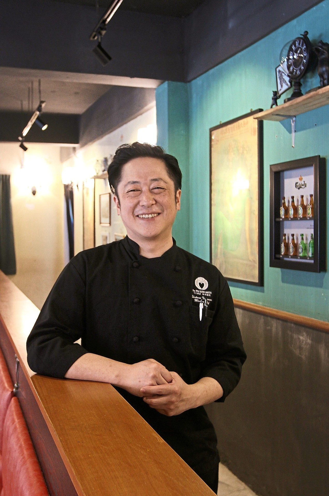 Takemura trained under celebrated Iron Chef Chen Kenichi in Japan and is now making his mark in Kuala Lumpur.