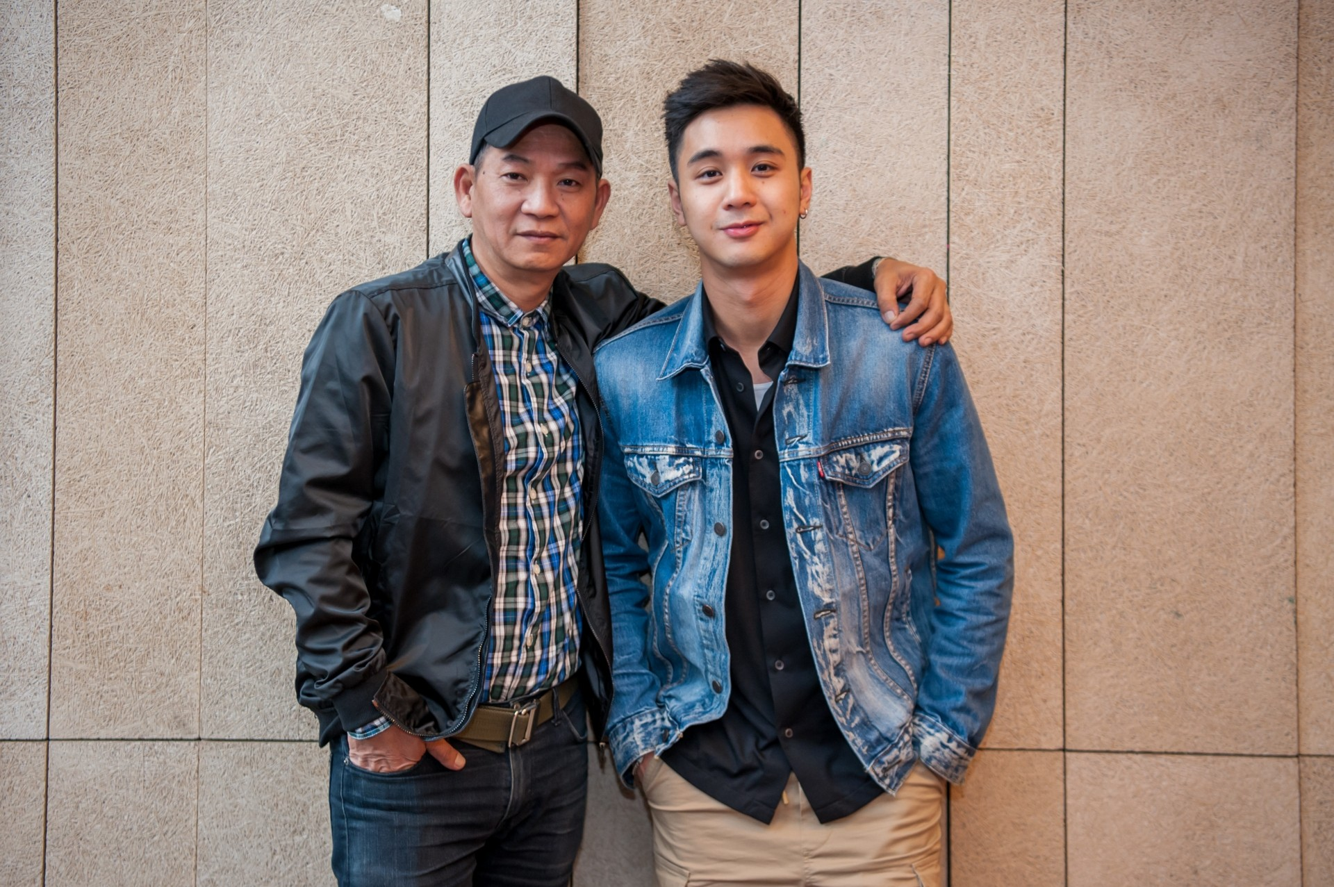 Wilson Tin (left) and Fabian Loo are proud to be part of 'Food Lore' as it carries an important message.