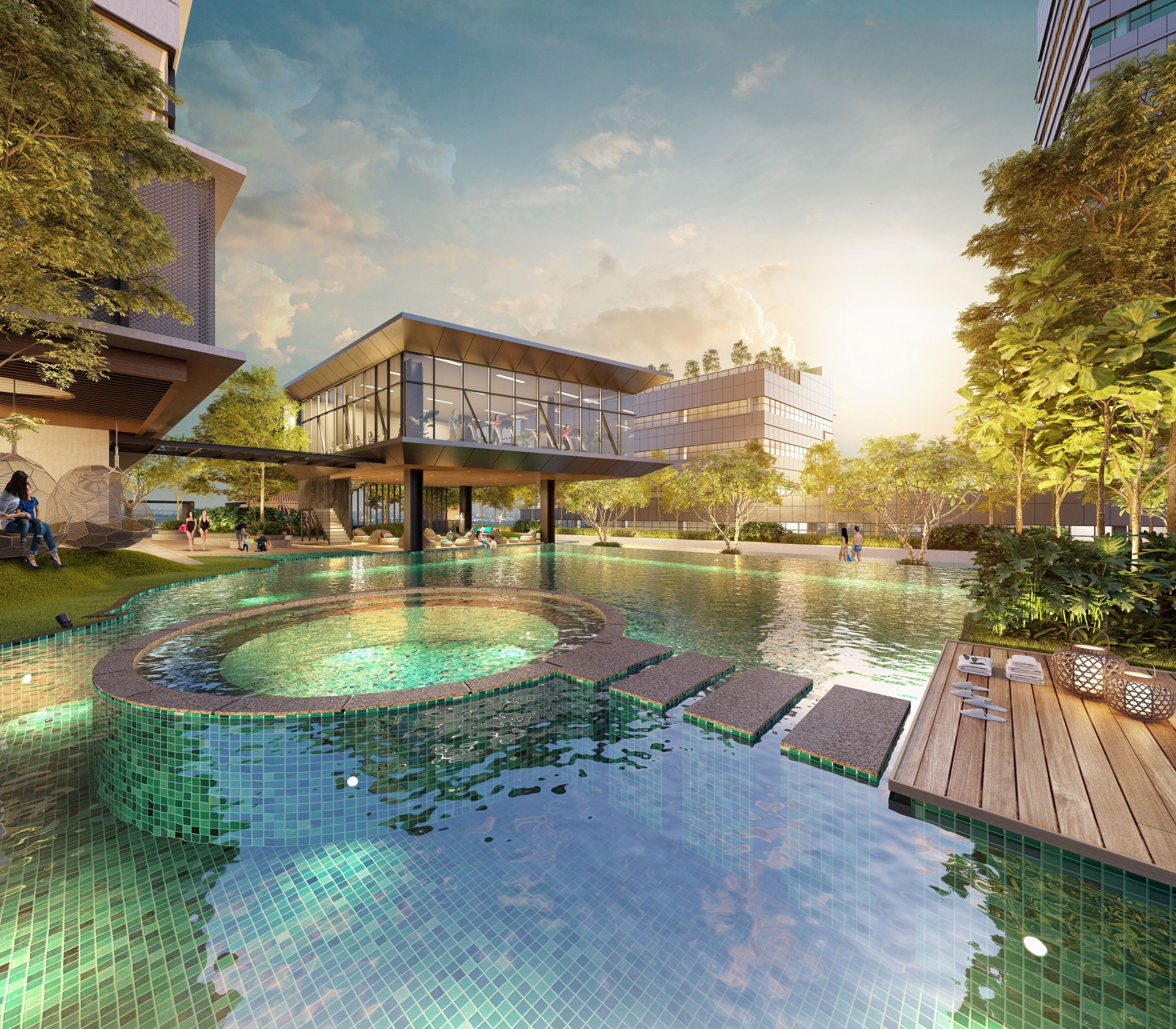 ATWATER at Section 13, Petaling Jaya, features senior living features in select units