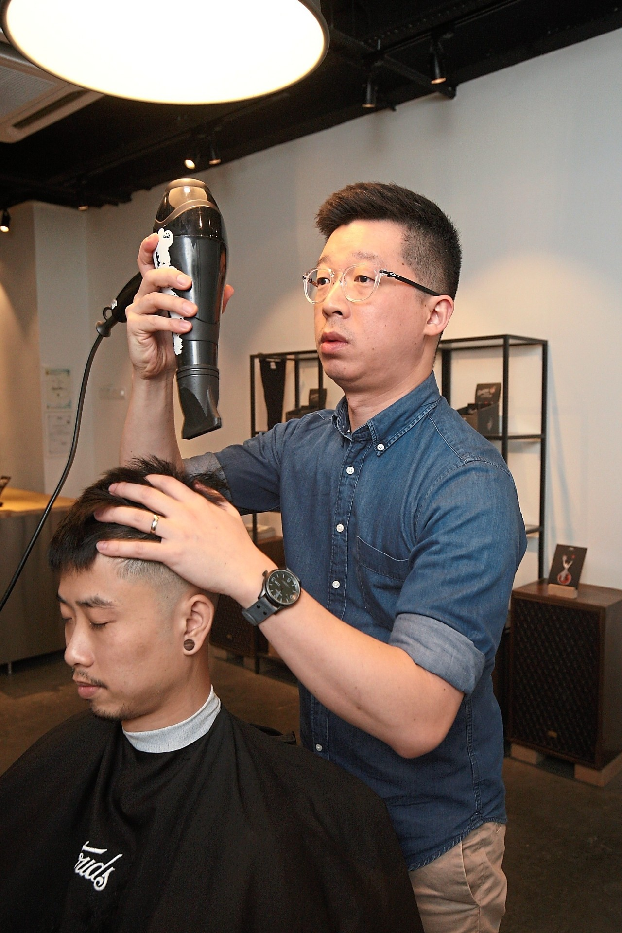 Ted Lee says men have begun to realise that it pays in their personal and professional life to be reasonably well groomed. Photo: FAIHAN GHANI/The Star.