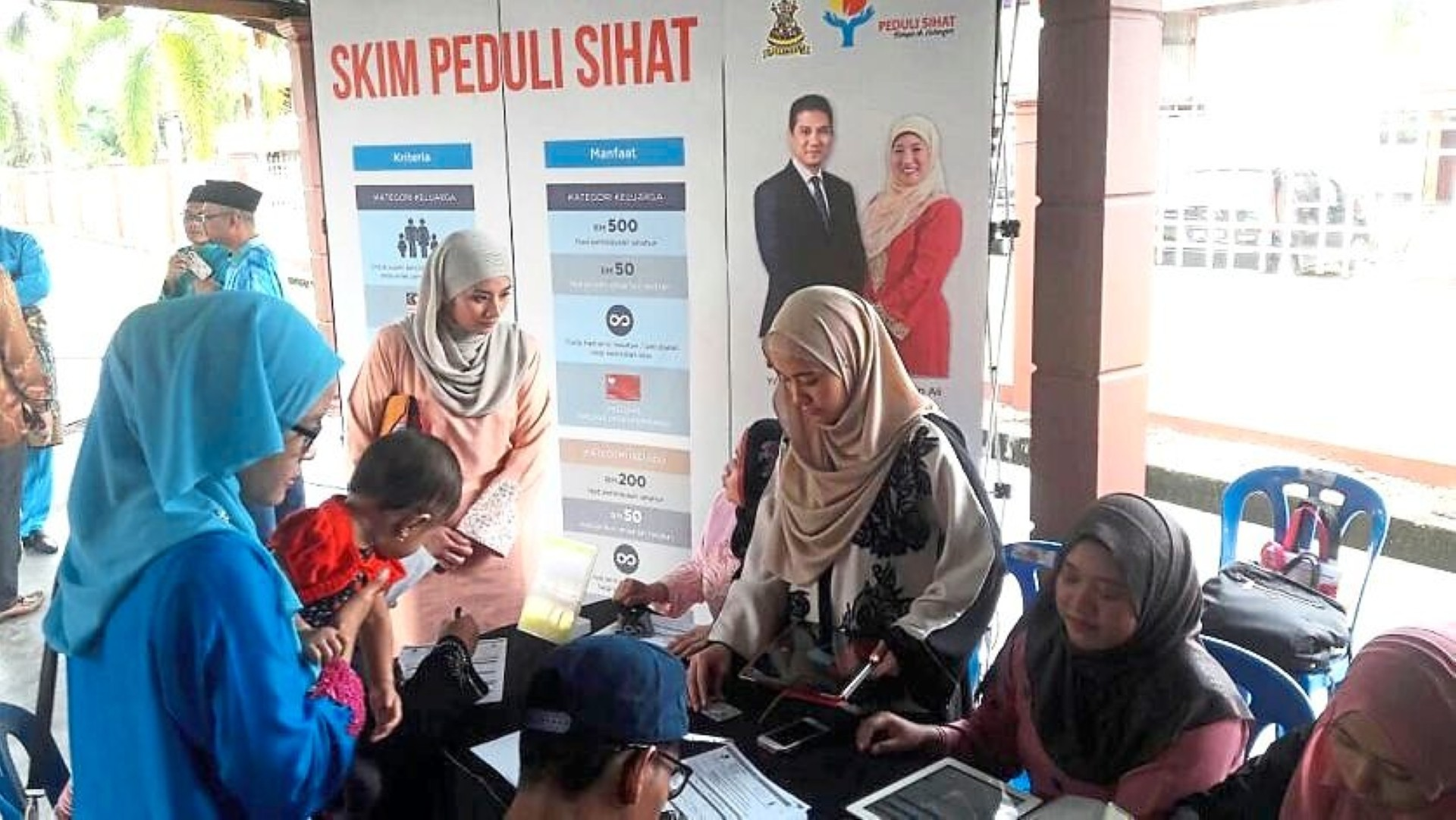 Recipients of the Peduli Sihat scheme have increased to 85,000. — Filepic
