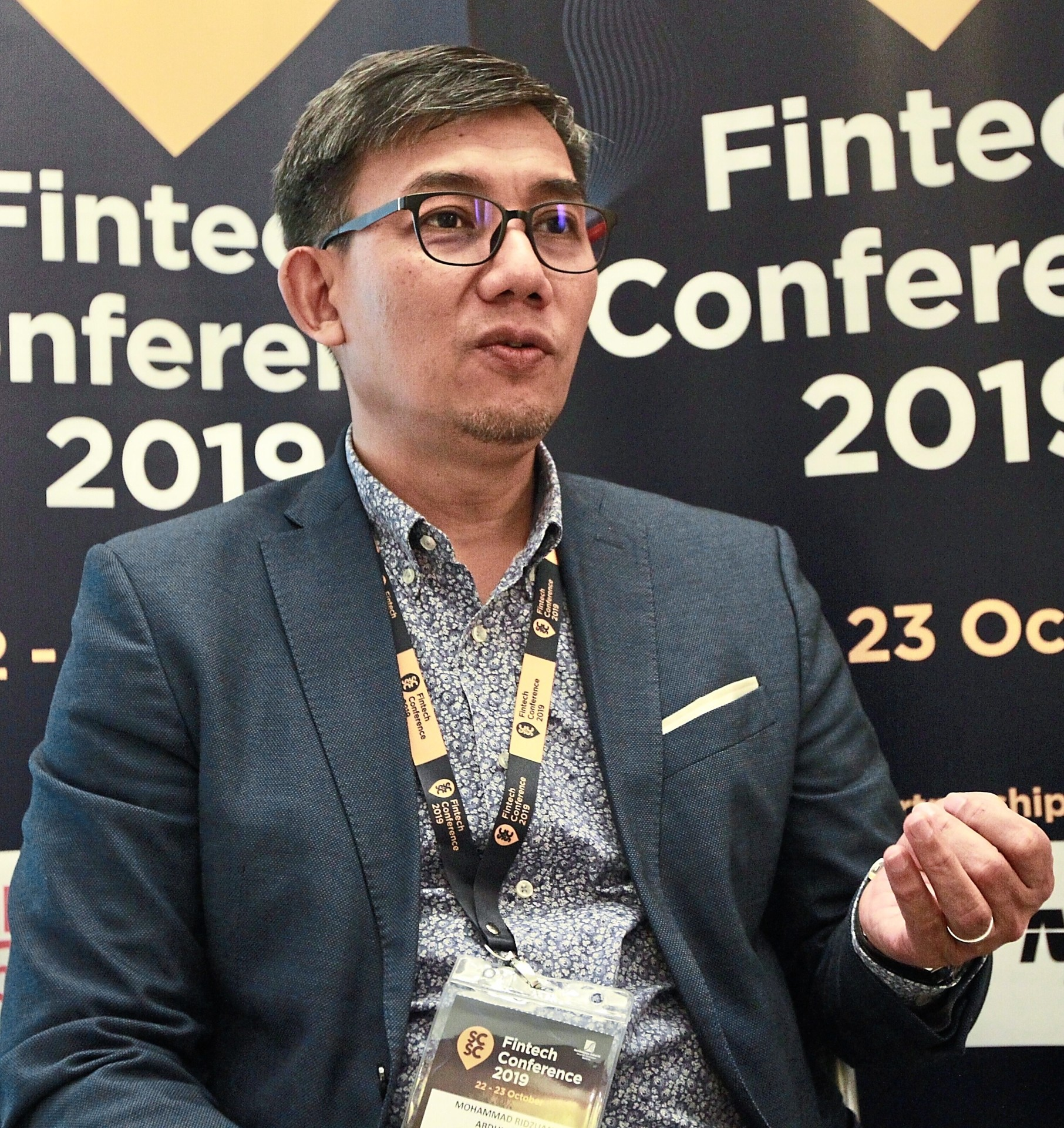 'Innovative companies are able to reach out based on the strength of their ideas without needing connections,' said Mohammad Ridzuan. — NORAFIFI EHSAN/The Star