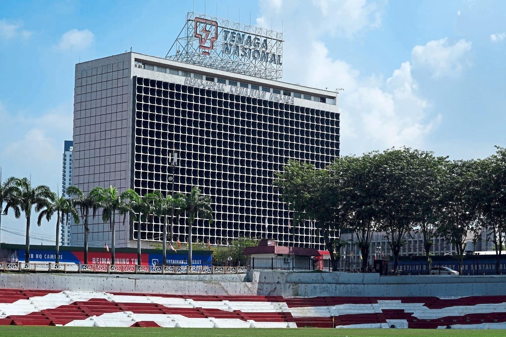 The TNB headquarters in Bangsar, Kuala Lumpur.