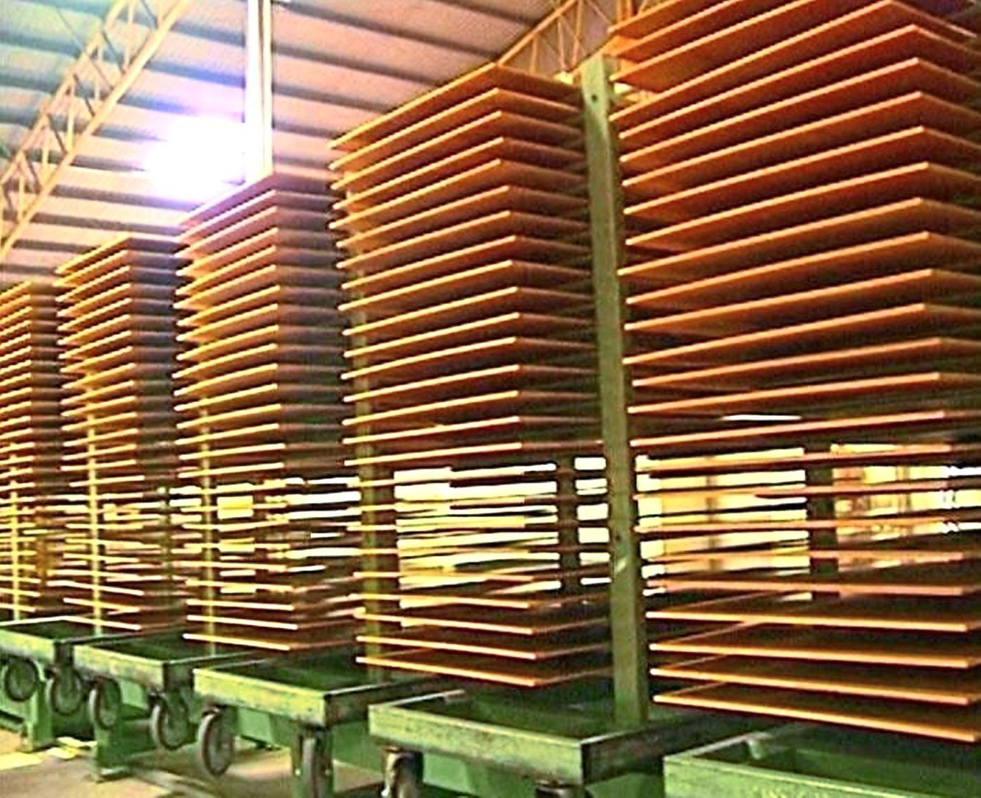 Tough times: Plywood production cost has skyrocketed due to increase in cost of logs and labour as mill operations are labour-intensive.