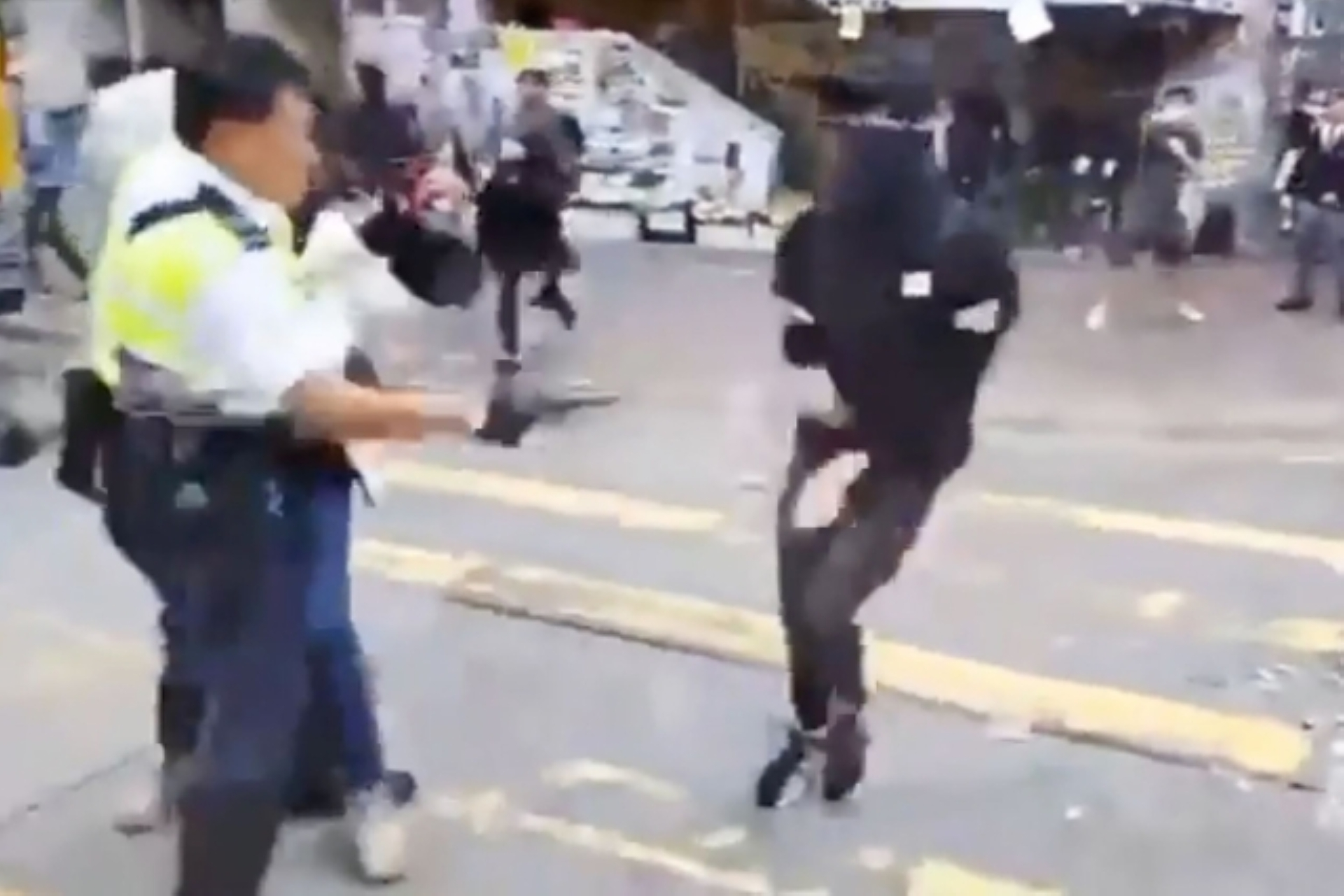 Image result for HONG KONG PROTESTS PROTESTER IN CRITICAL CONDITION AFTER POLICE SHOOTING