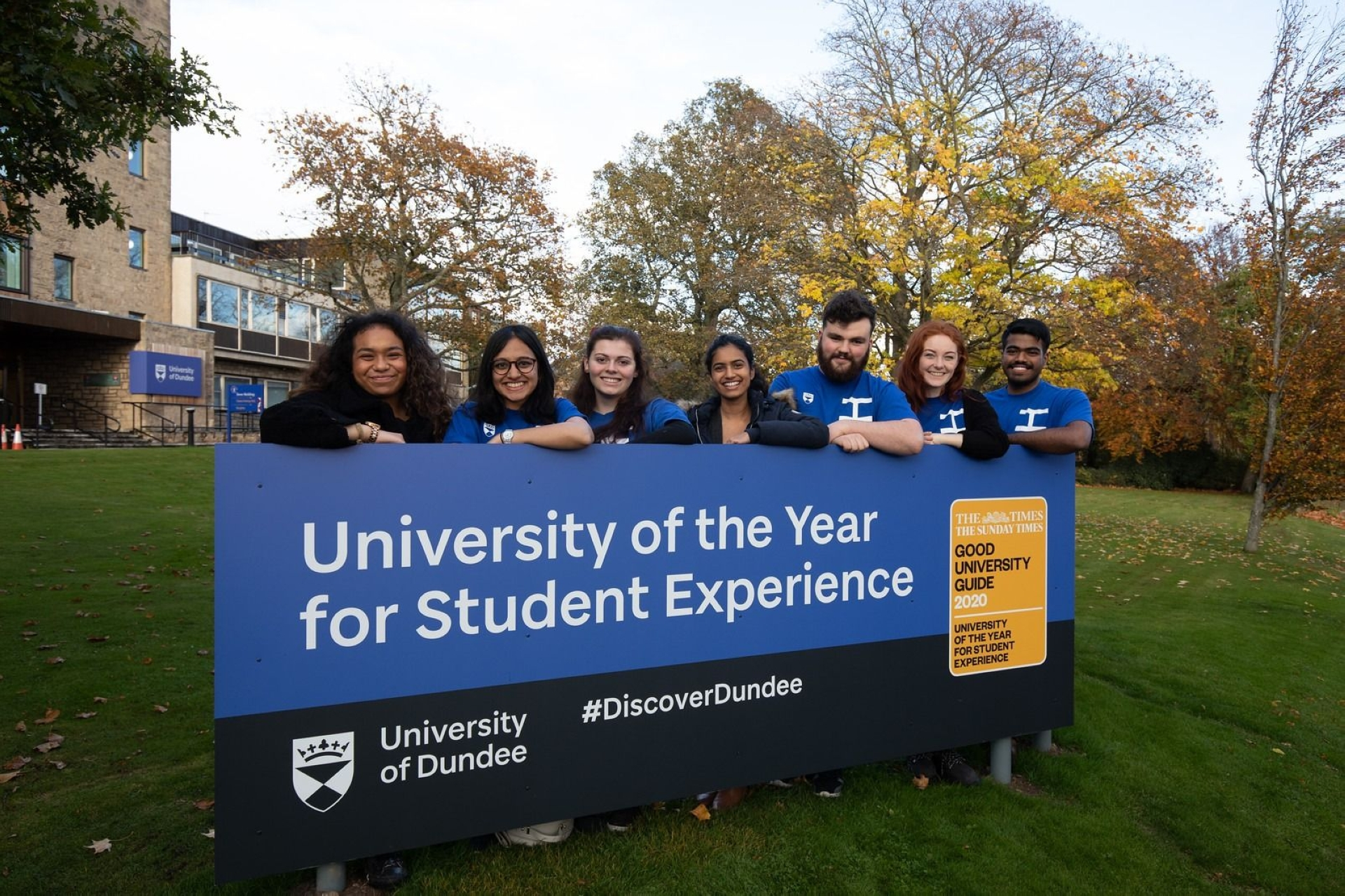 Pursue your studies at University of Dundee in the UK for the best student experience.
