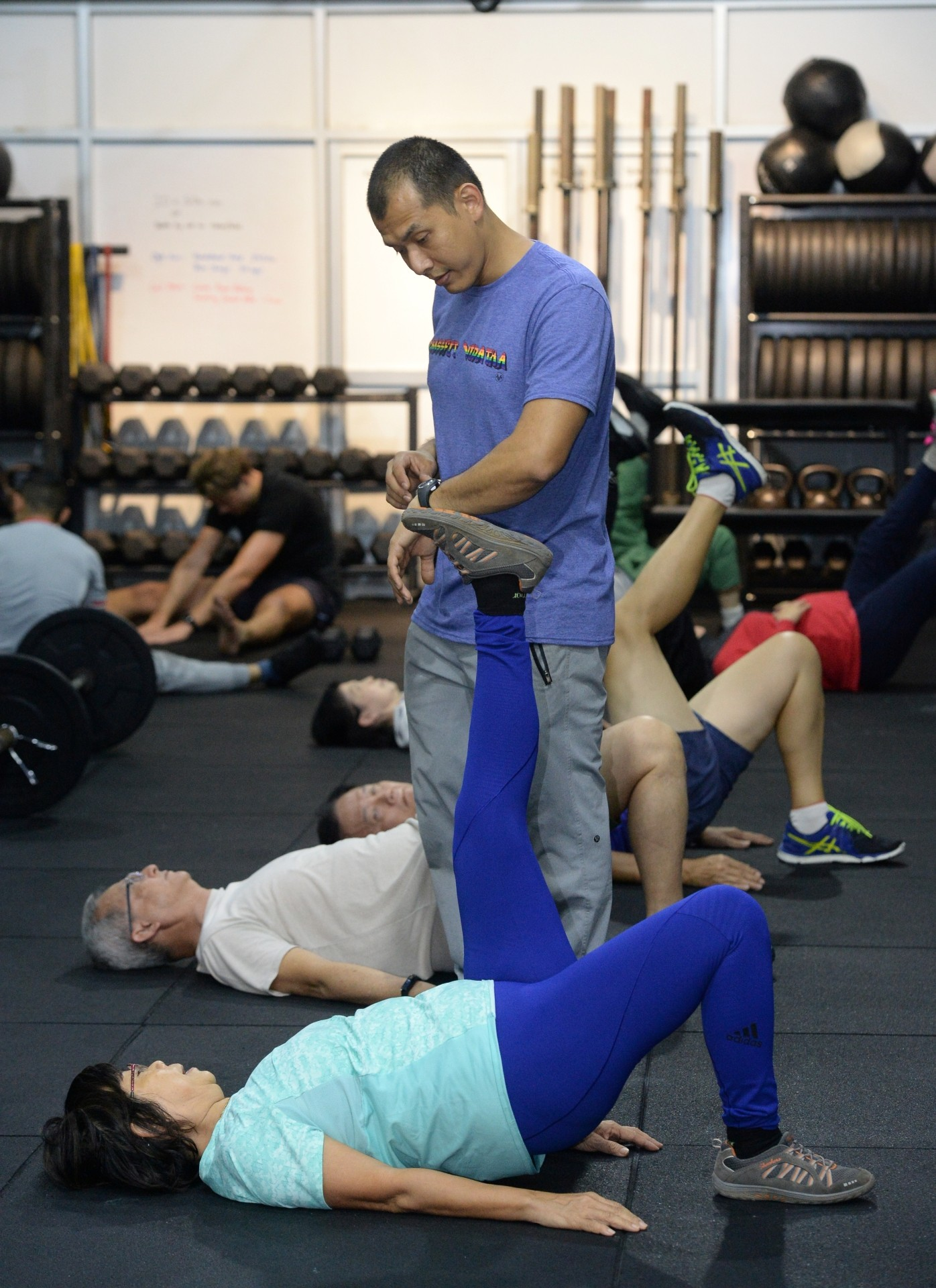 Crossfit isn't just for the young and fit but rather, it's focus on functional movements makes it ideal for seniors.