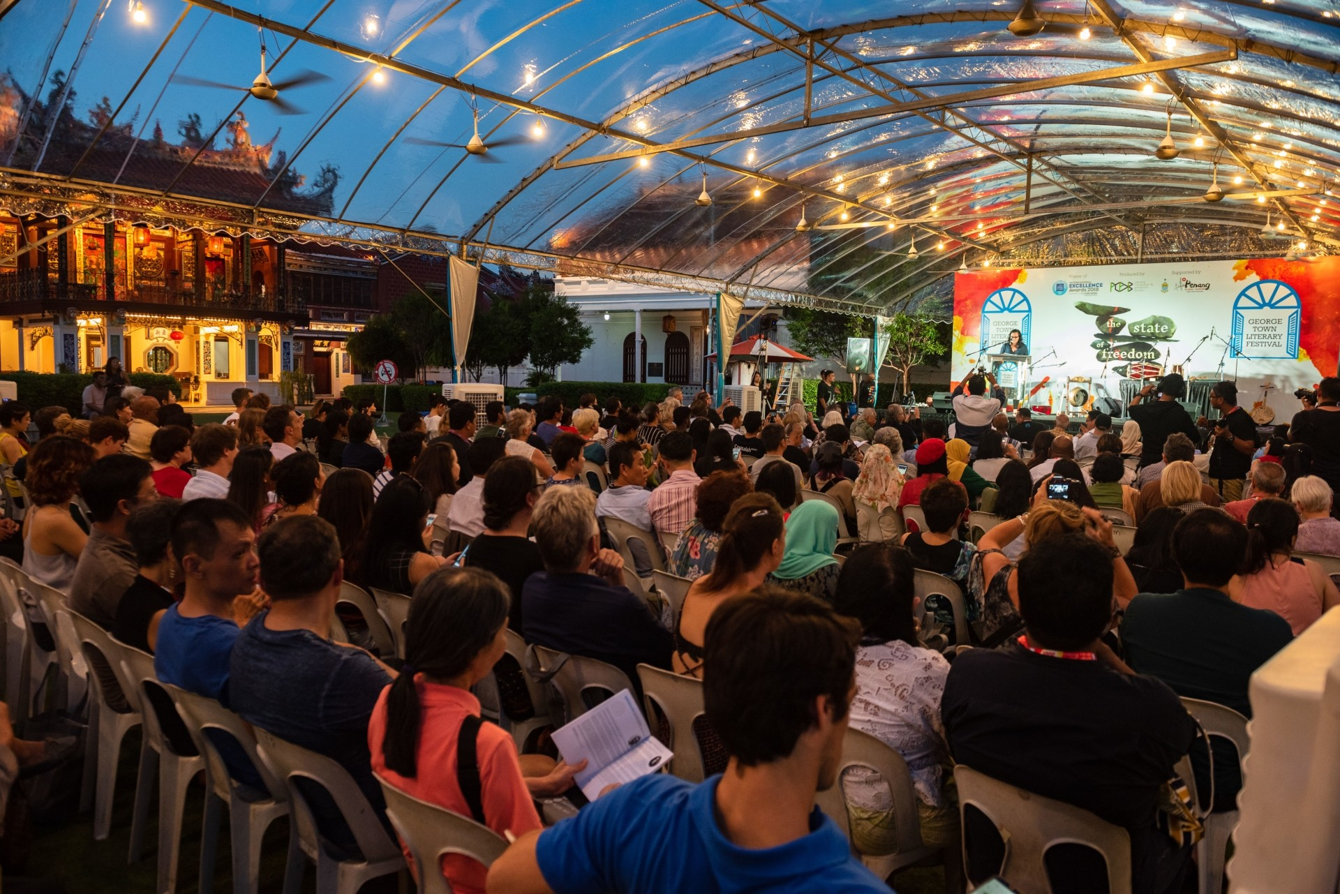 One of the sessions held during George Town Literary Festival 2018. Photo: ttgeorgetown
