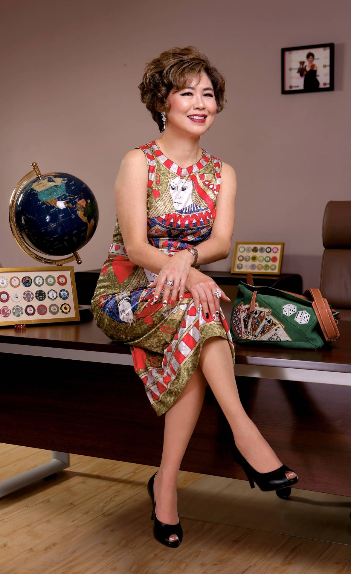 Lee calls herself a driven 'deal-maker'. Photo: The Star/Yap Chee Hong