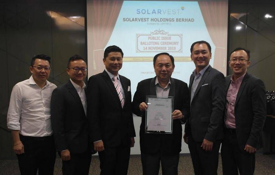 Solarvest's public offer oversubscribed more than 35 times
