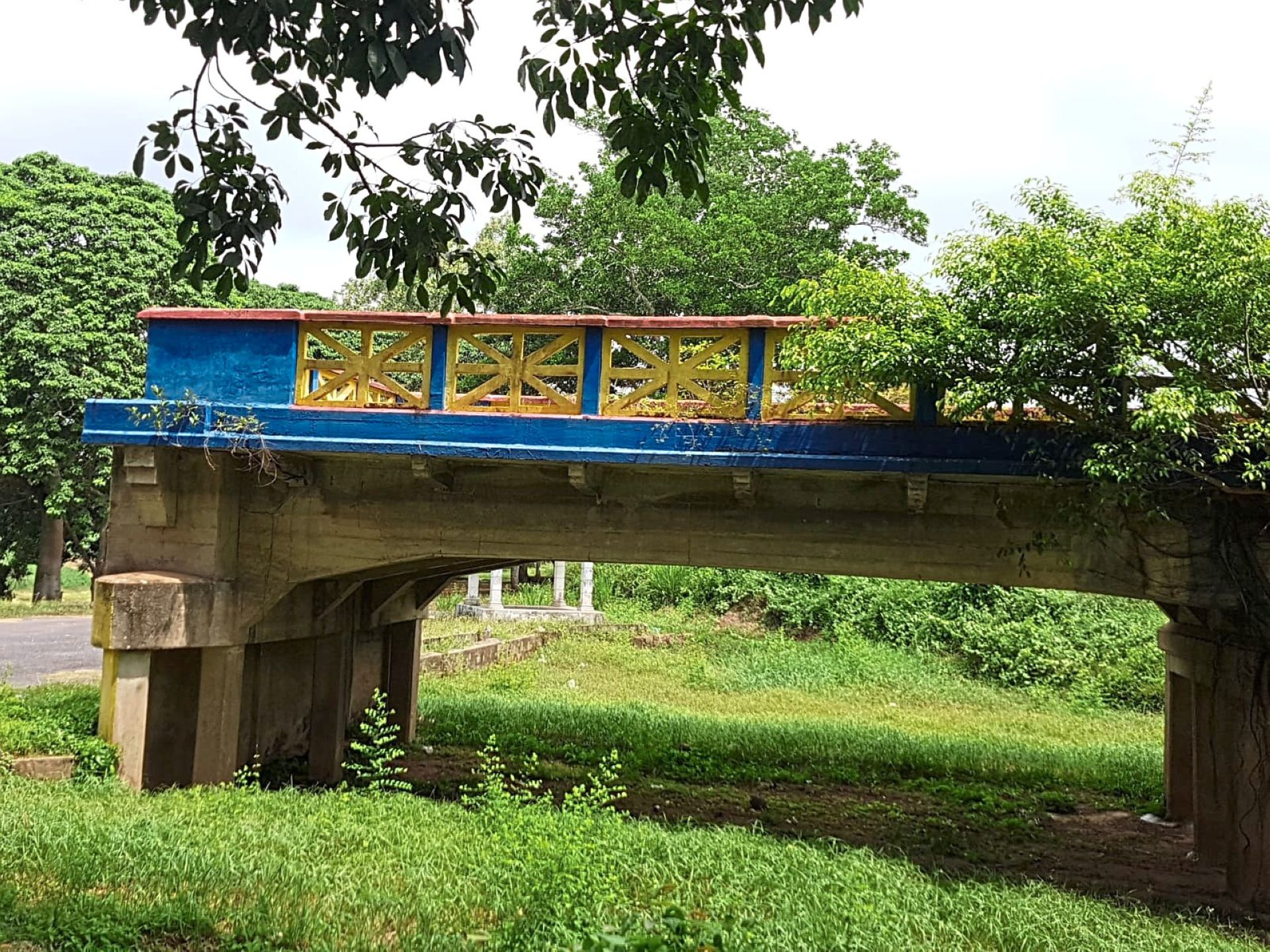 The historical Buloh Kasap bridge in Muar, which Tan gave as an example of a historical site which should be preserved and promoted.