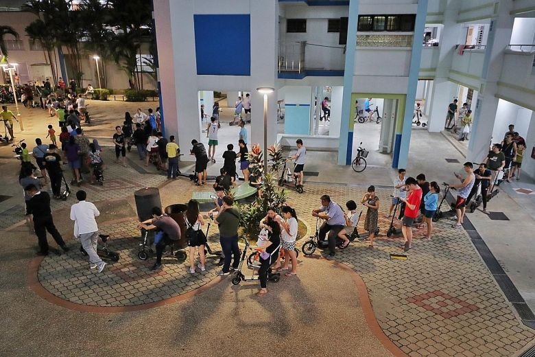 Singaporeans queue to receive S$100 incentive for disposal of non-certified e-scooters