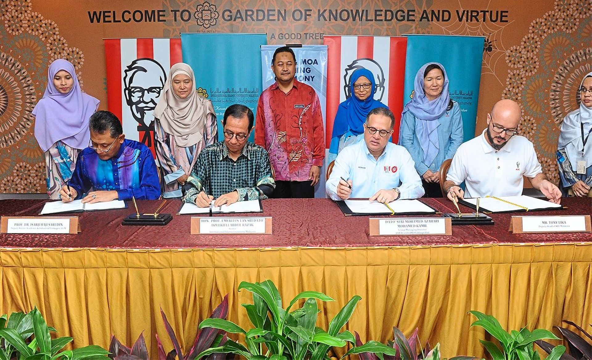 Students to have industrial training with KFC restaurants
