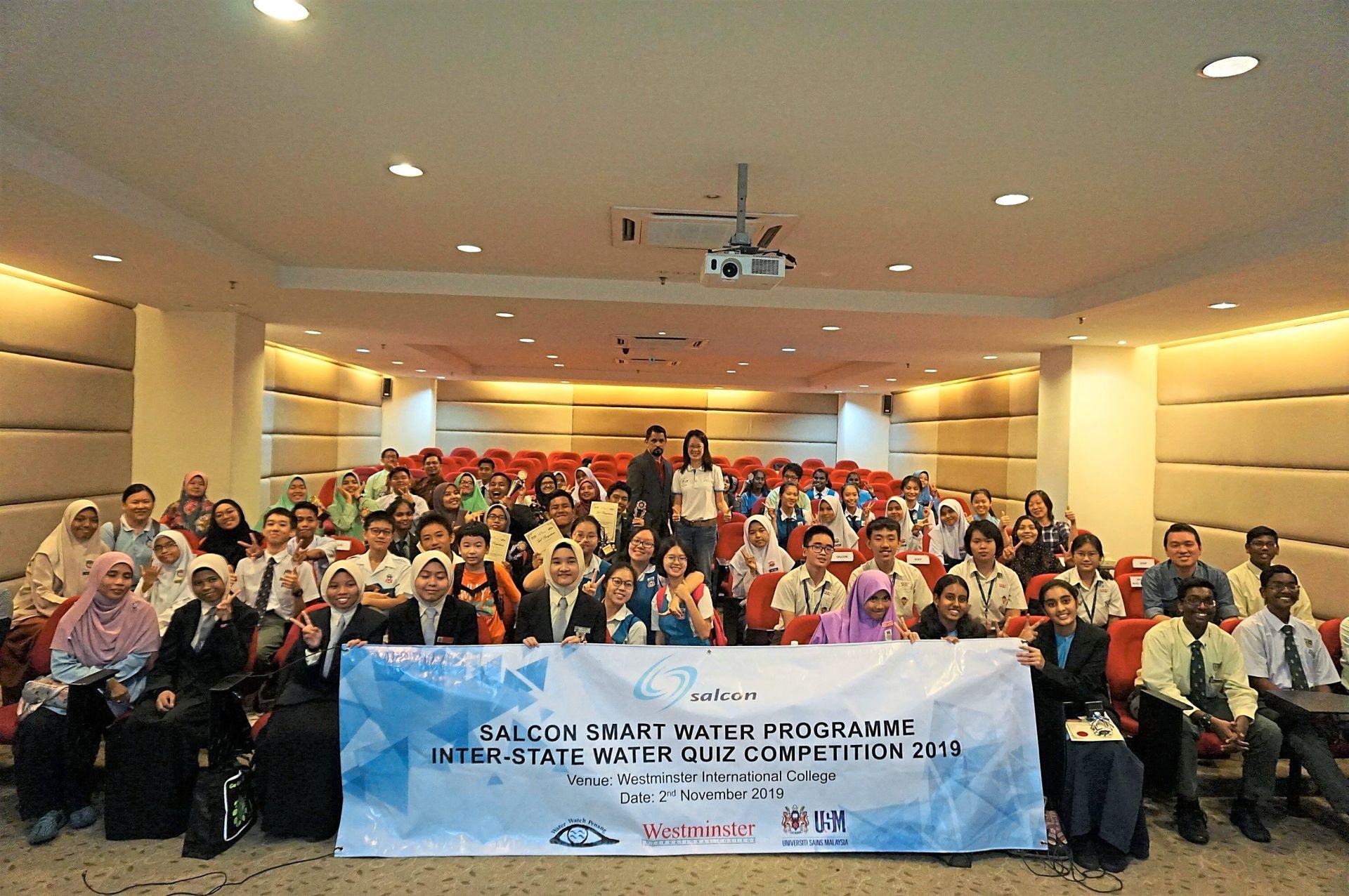 SMK Seksyen 4 Kota Damansara crowned water quiz champs