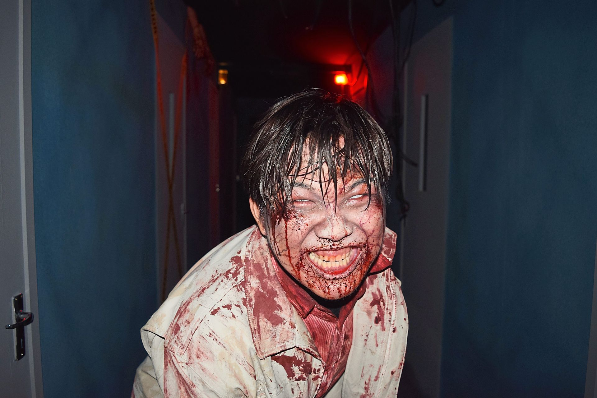 Take a ride on the Train To Busan horror house experience