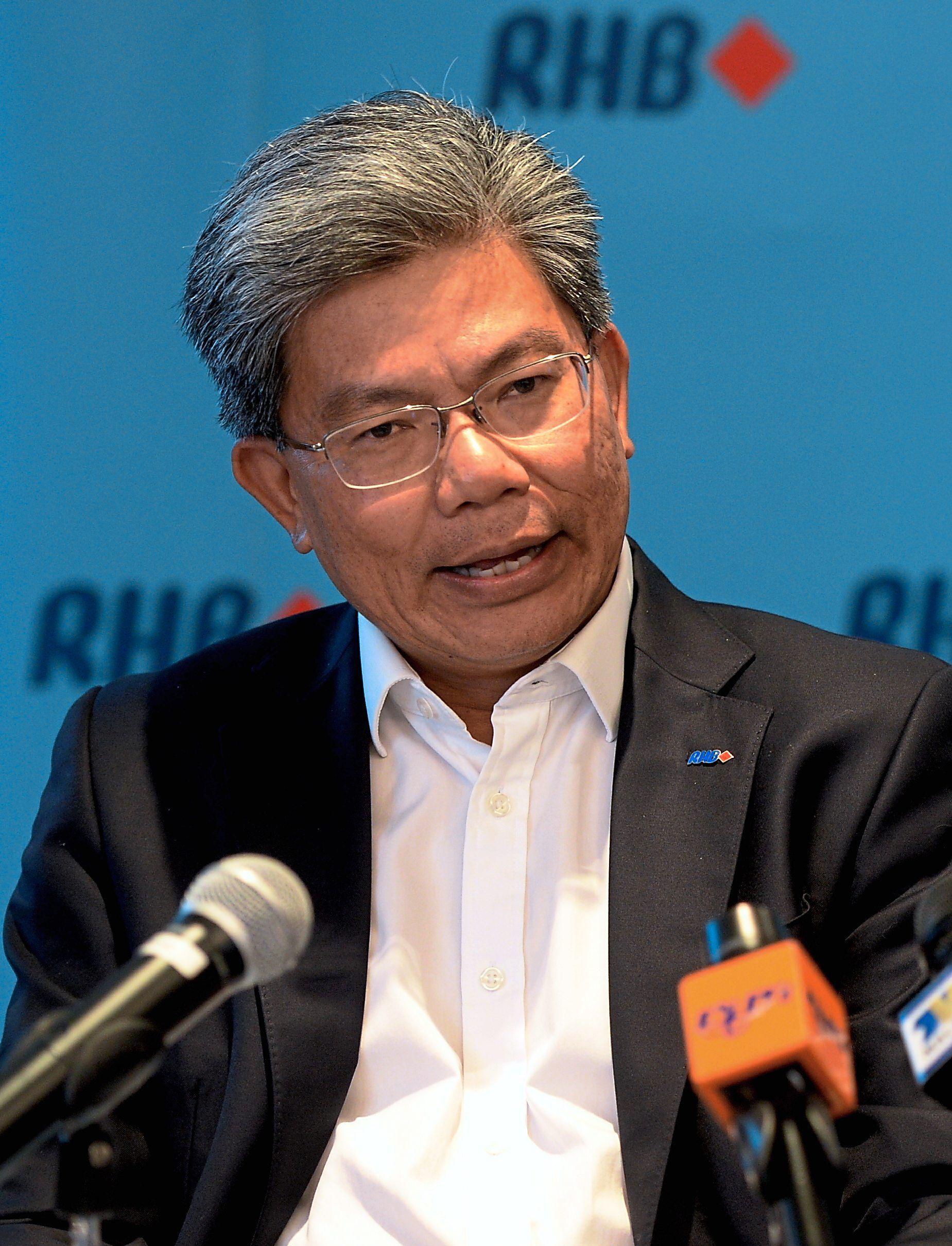 Datuk Khairussaleh Ramli RHB Group managing director