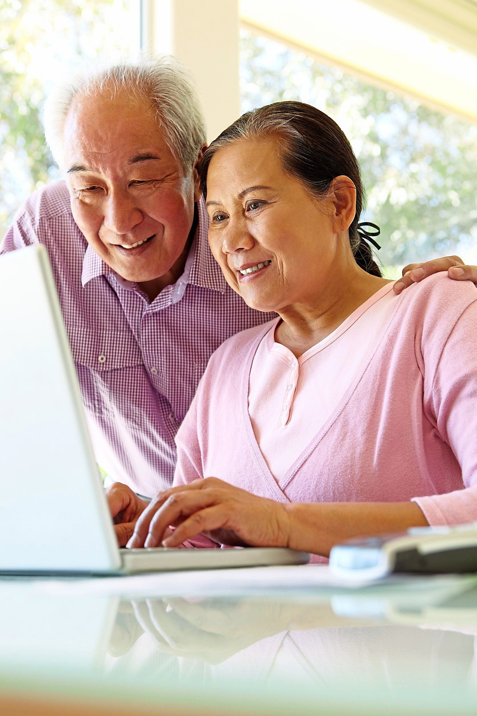 Video-calling platforms allow older people to connect with family and friends who may live in another city or country. — 123rf.com