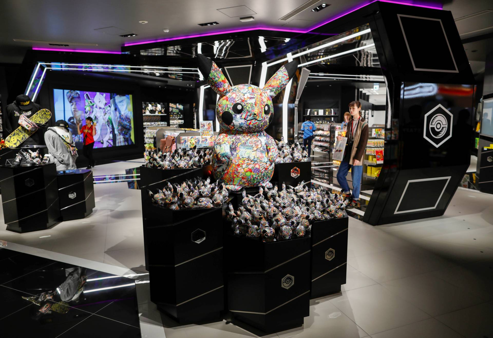 A general view of the Pokemon Center Shibuya at Shibuya Parco, a department store and shopping mall complex, during a press preview in Tokyo, Japan. — Reuters