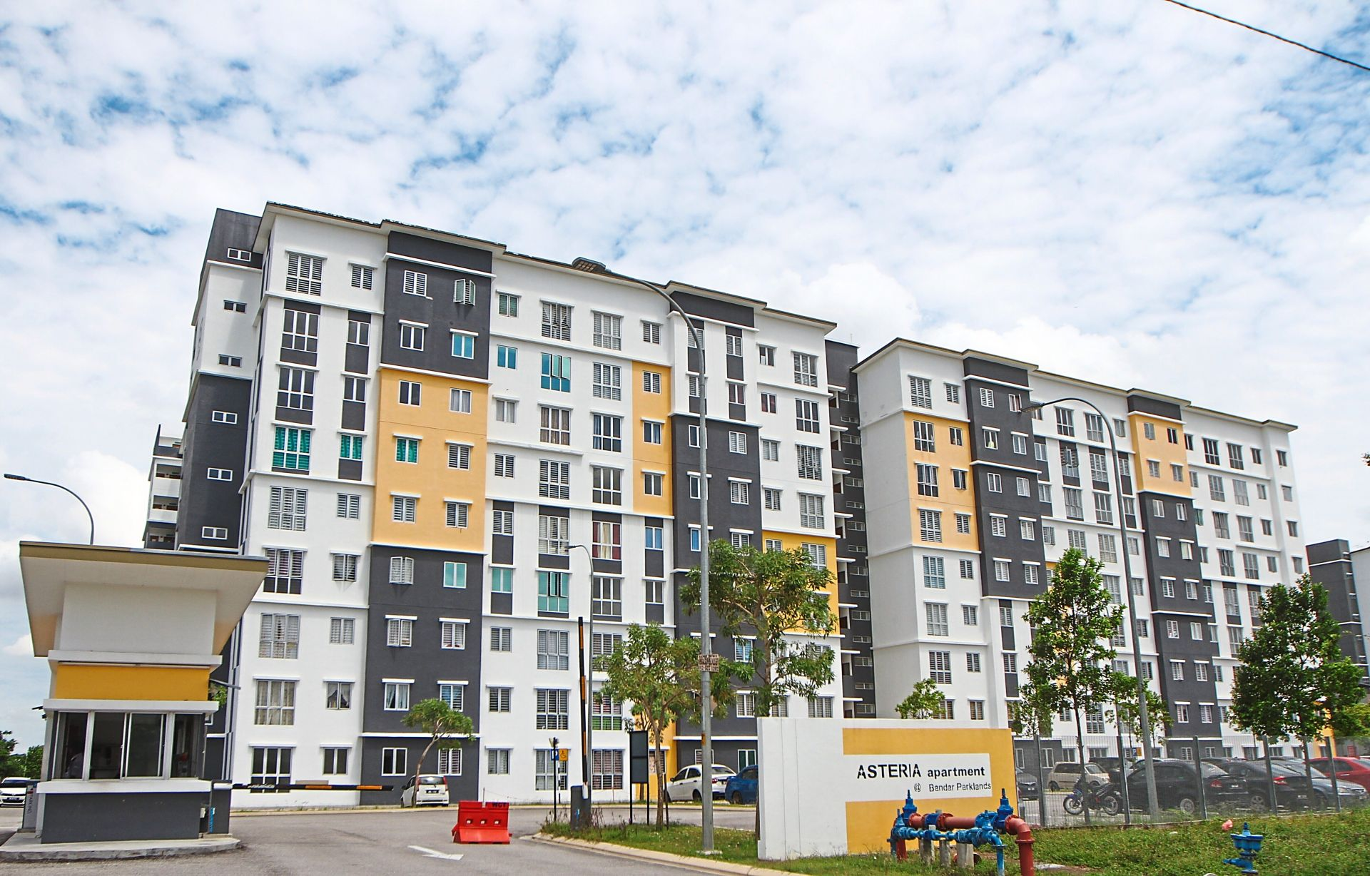 Another heavily advertised property is Asteria Apartment in Bandar Parklands, Klang, which is under the RSKu scheme.