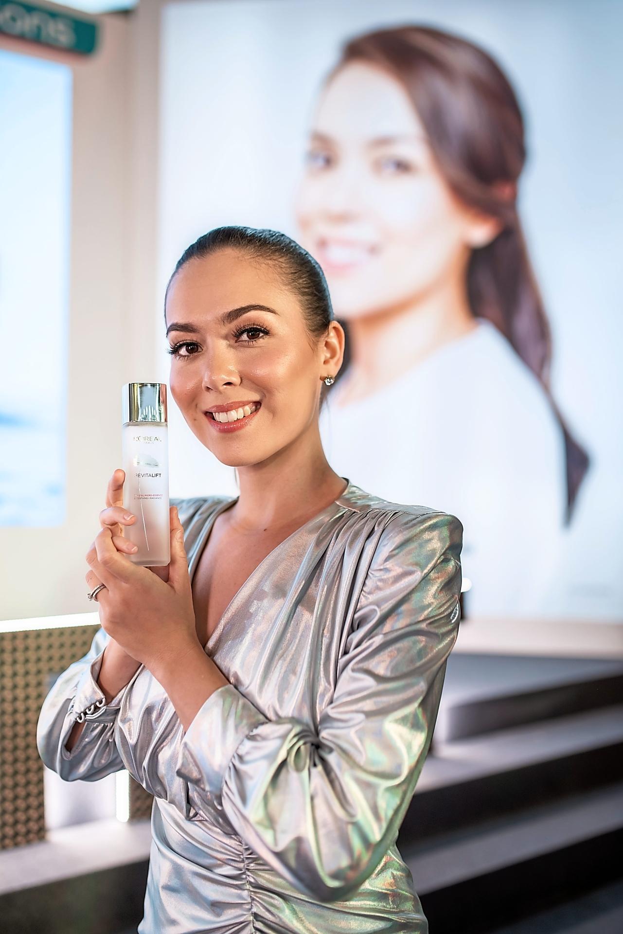 Siti Saleha is the digital collaborator for L'Oreal Paris' skincare range. — L'Oreal Paris