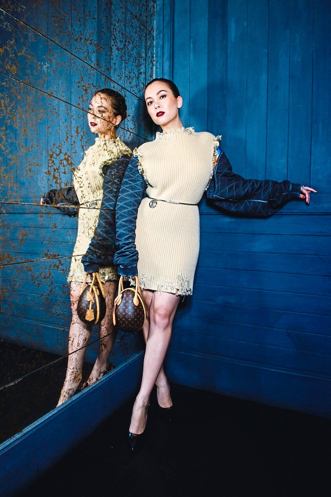Saleha endorses L'Oreal Paris' skincare range. — SITI SALEHA