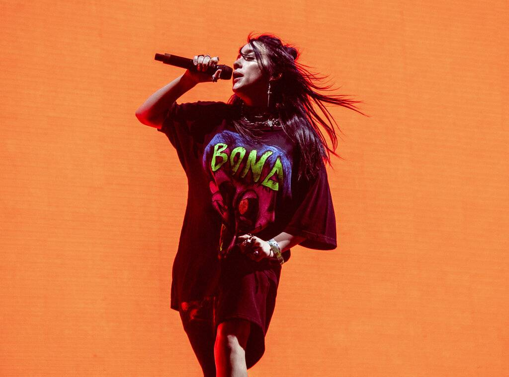 Billie Eilish scored six Grammy Award nominations, making the 17-year-old the youngest artist in the history of the Grammys to achieve the feat. Photo: AP