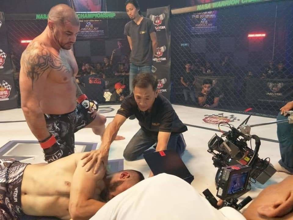 Wong was a stunt director on Malaysia's first mixed martial art movie, Sangkar.