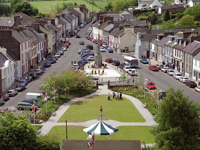 Wigtown town centre. Photo: wigtown-booktown.co.uk
