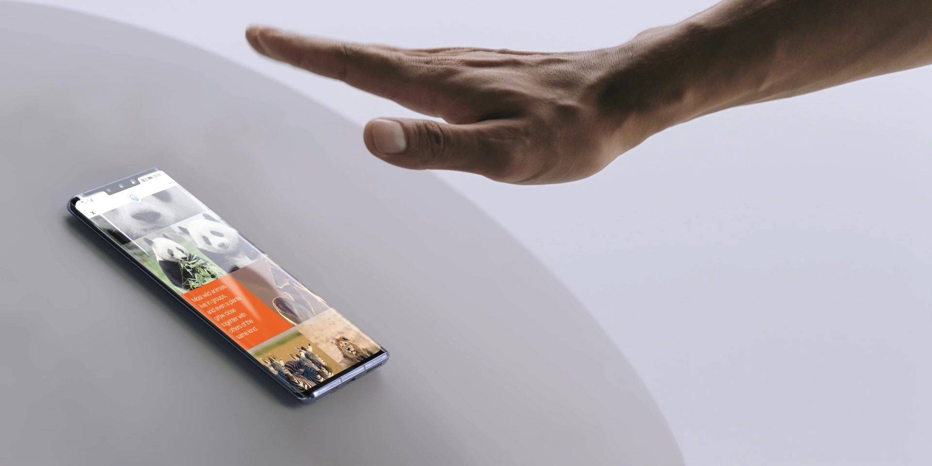 There are more ways to interact with the Mate 30 using gestures.