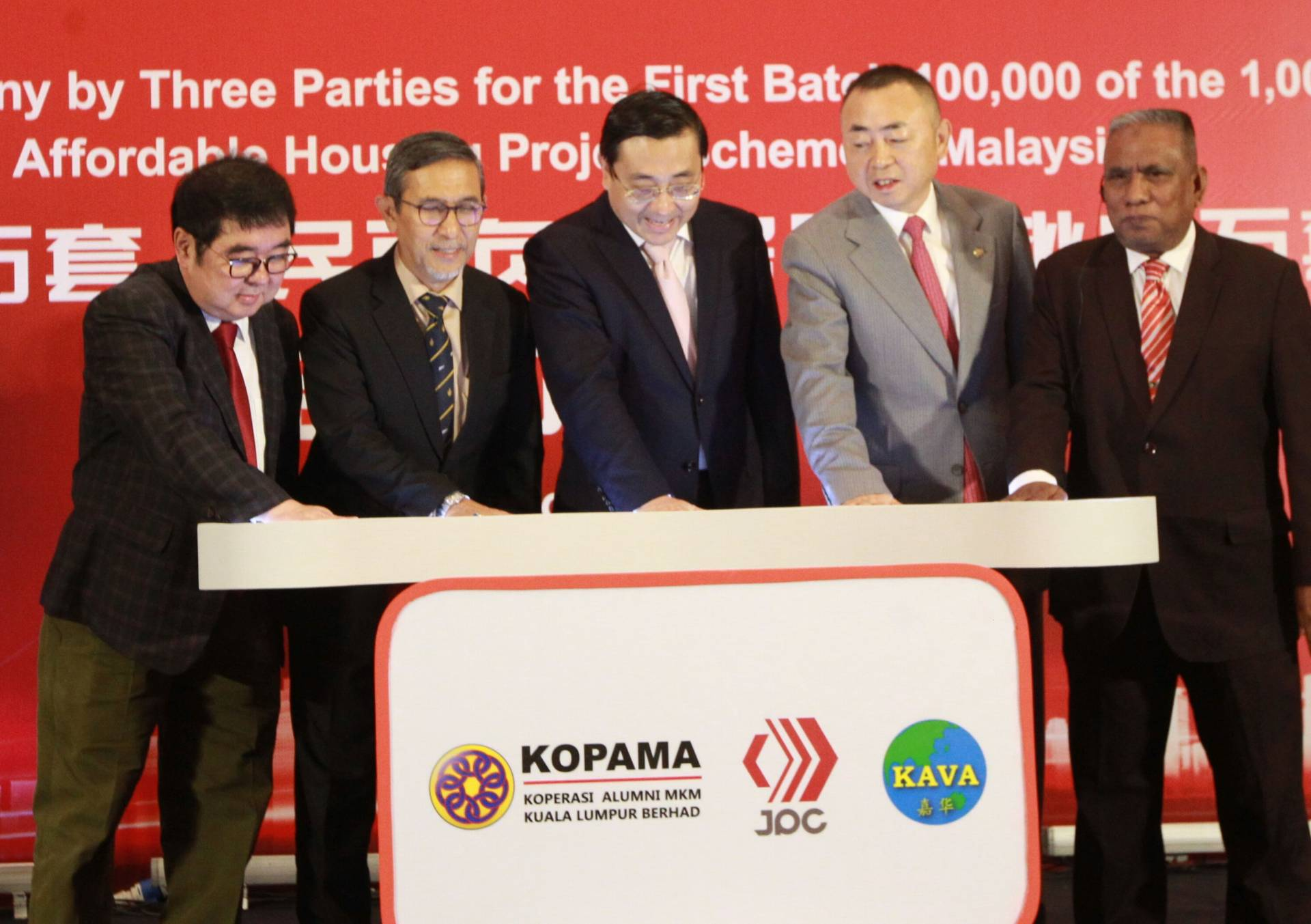 China Based Construction Firm To Build Affordable Homes In Malaysia The Star