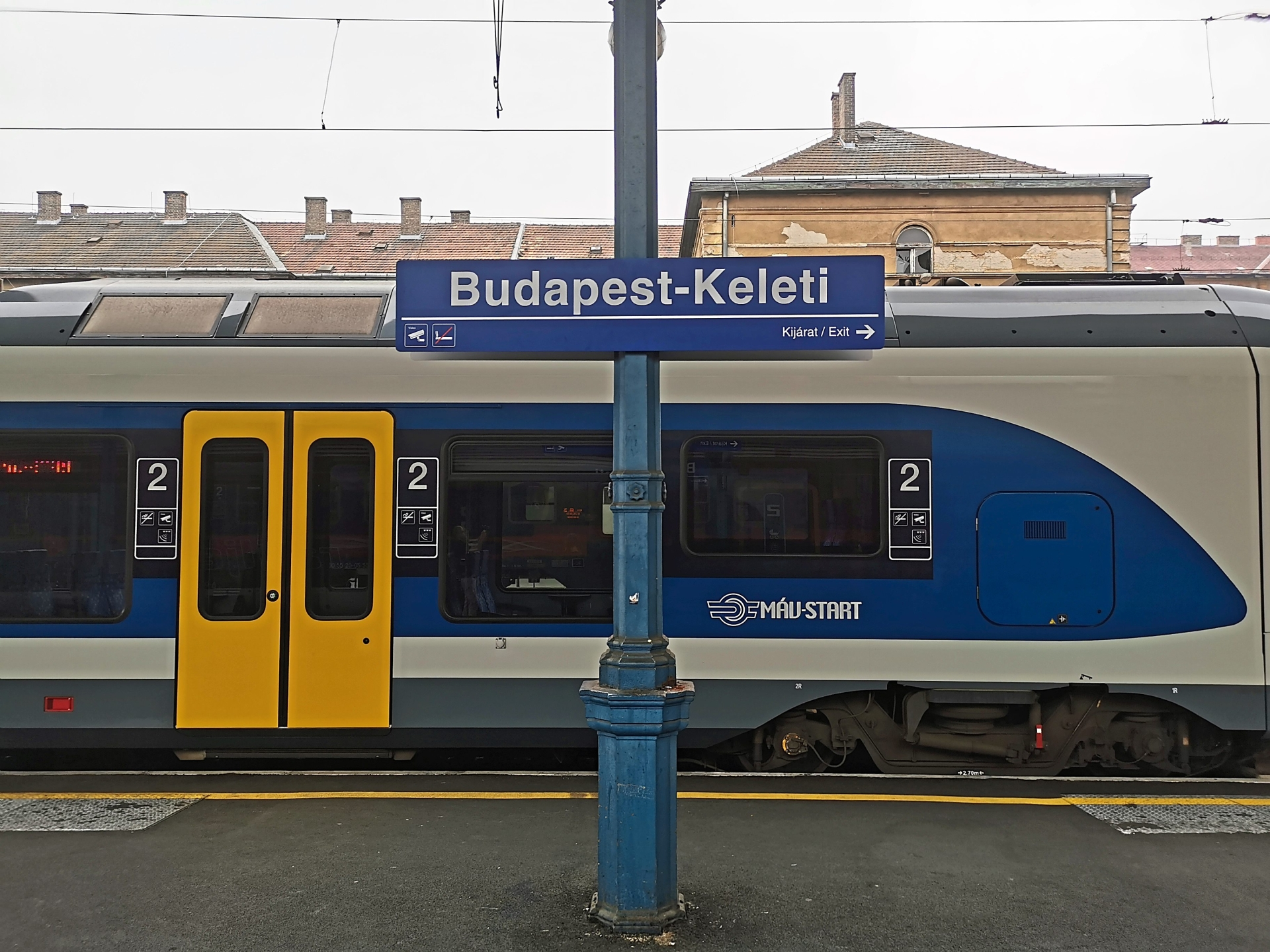 The train stations in Budapest are not manned, but that does not mean you can go for a ride for free.